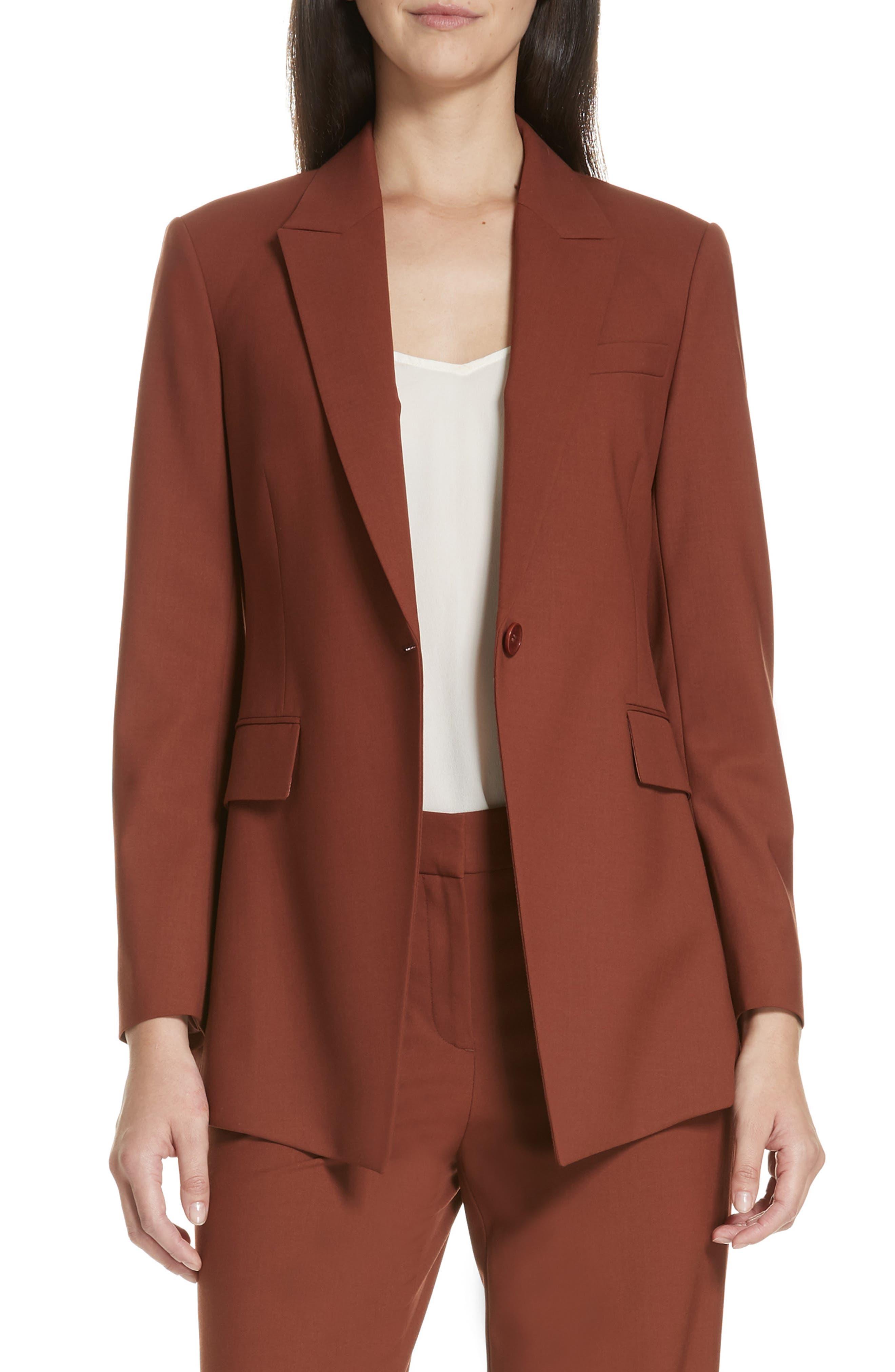 Etienette B Good Wool Suit Jacket,                             Main thumbnail 7, color,