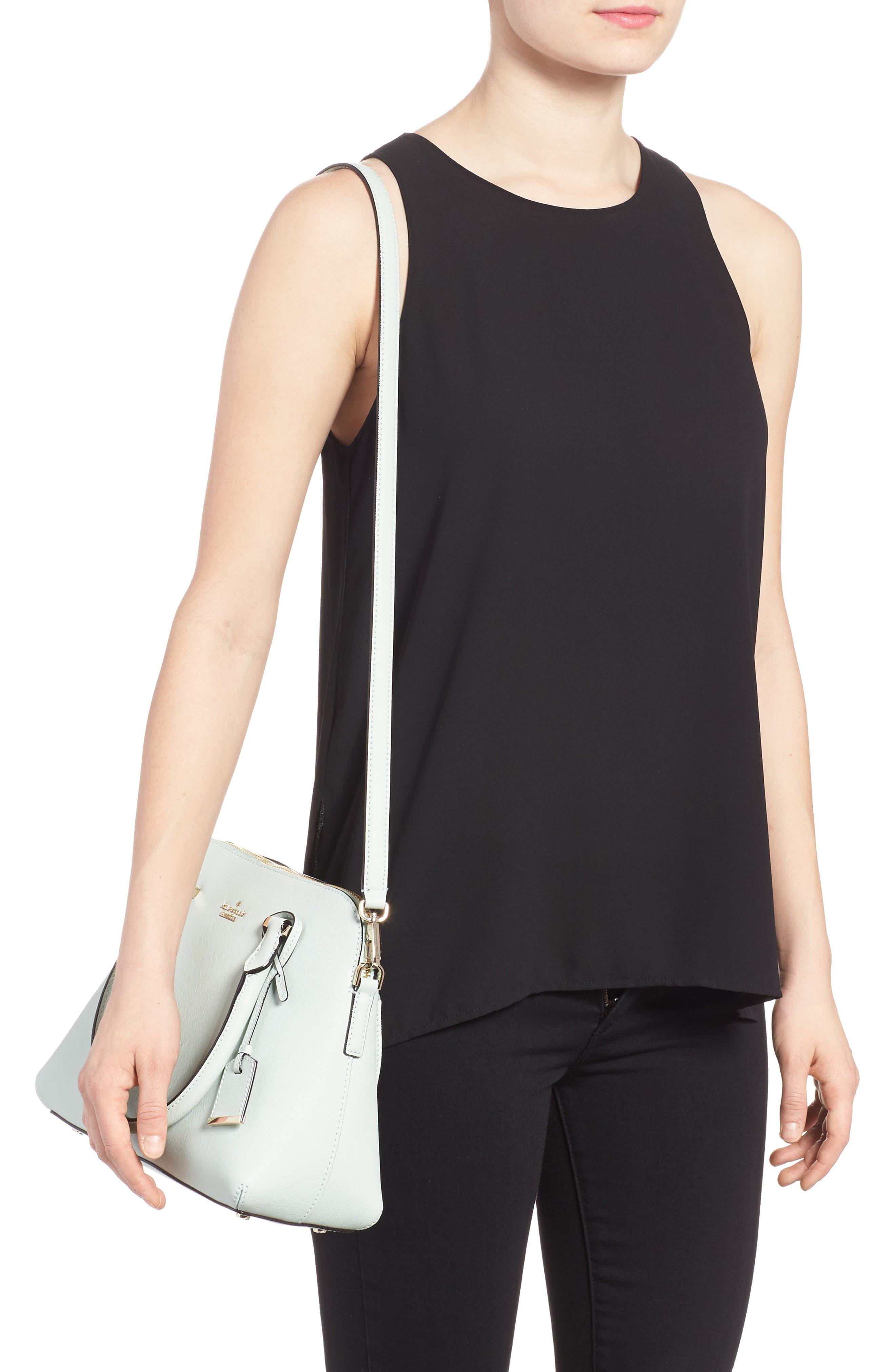 cameron street maise leather satchel,                             Alternate thumbnail 2, color,                             302