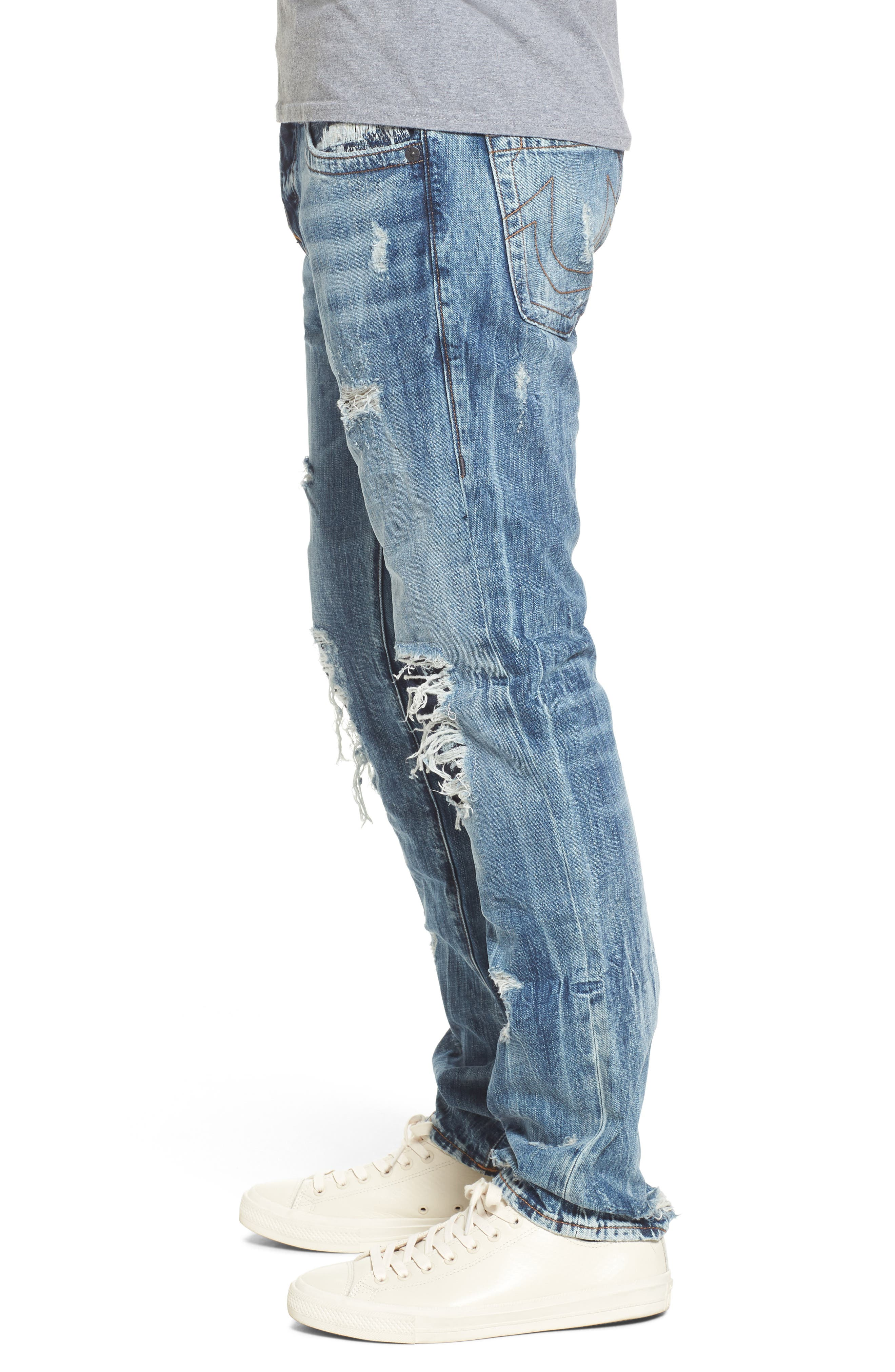 Rocco Skinny Fit Jeans,                             Alternate thumbnail 3, color,                             400