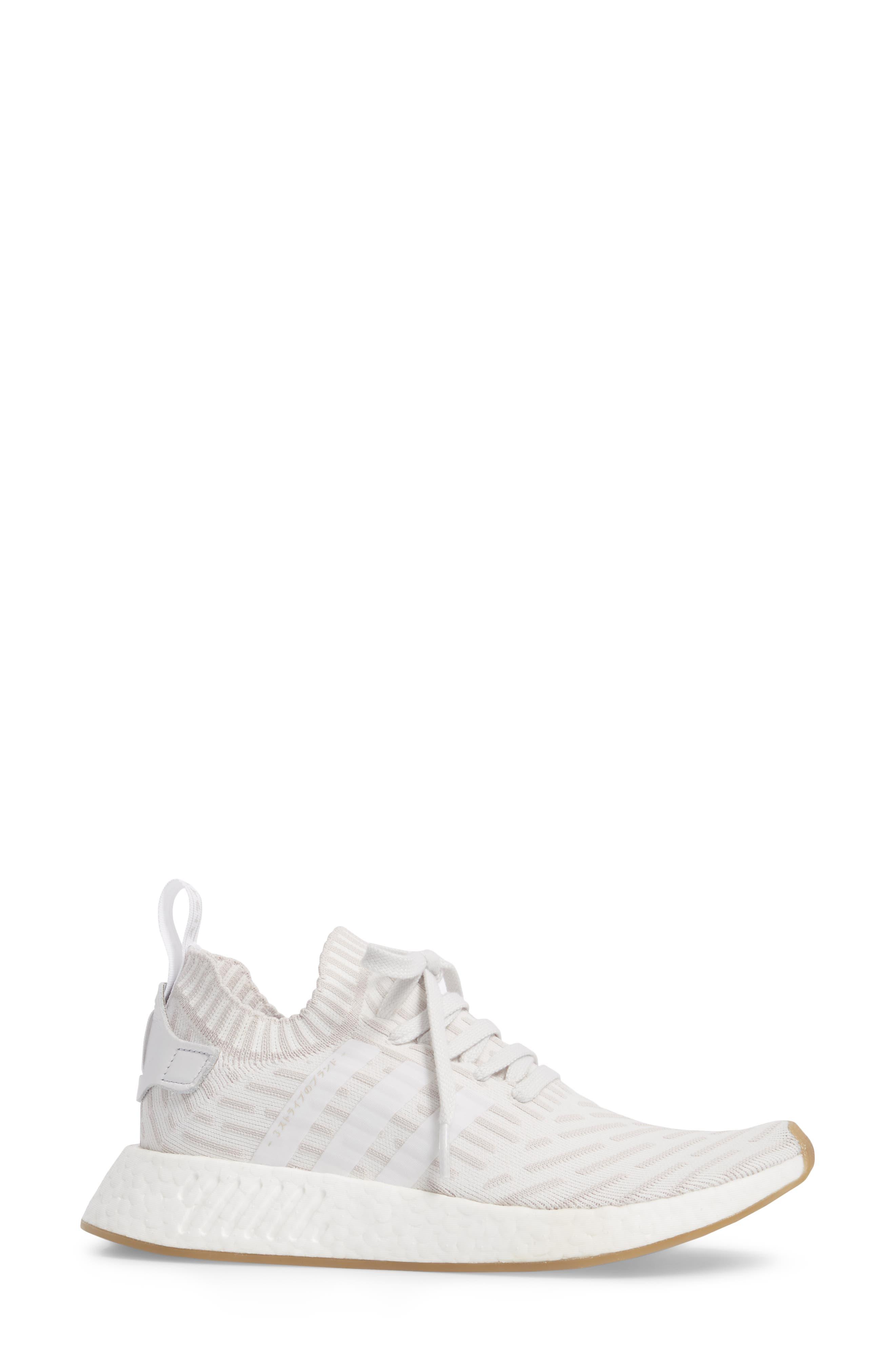 NMD R2 Primeknit Athletic Shoe,                             Alternate thumbnail 11, color,