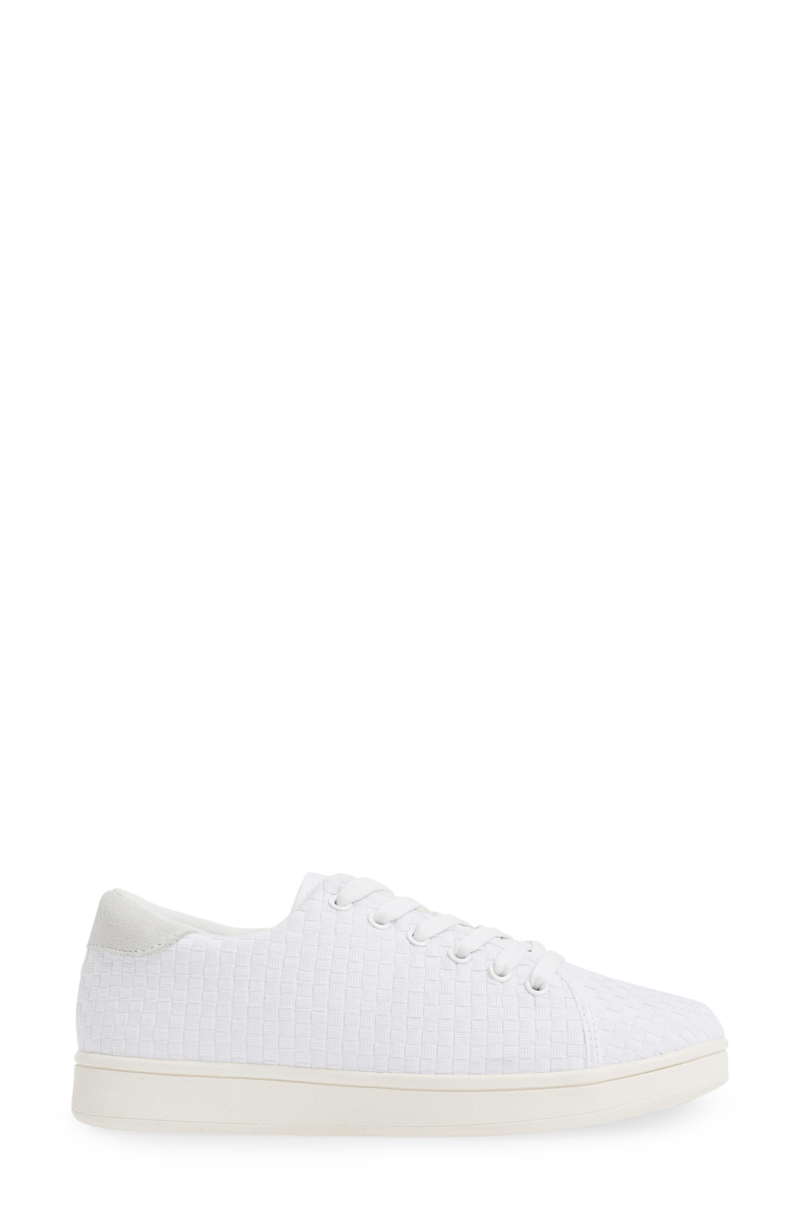 Daphne Sneaker,                             Alternate thumbnail 3, color,                             100