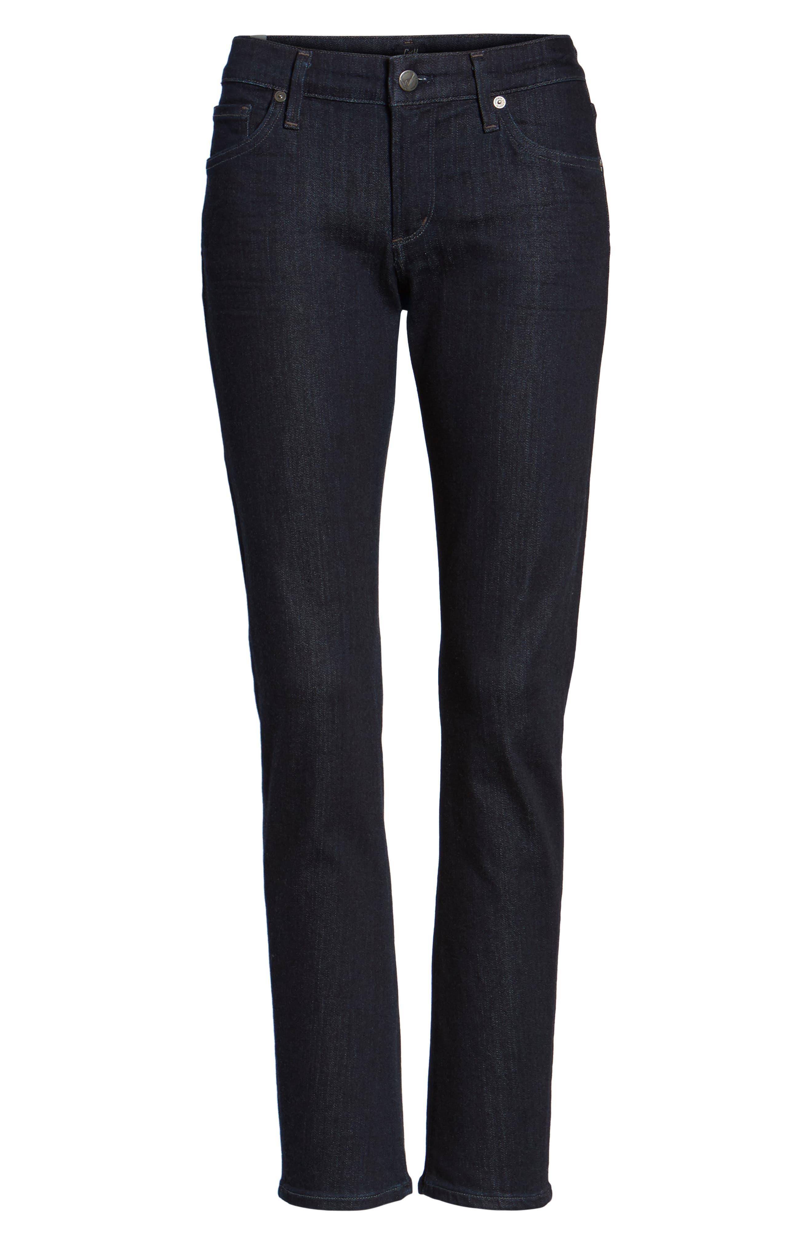 Arielle Slim Jeans,                             Alternate thumbnail 6, color,                             403