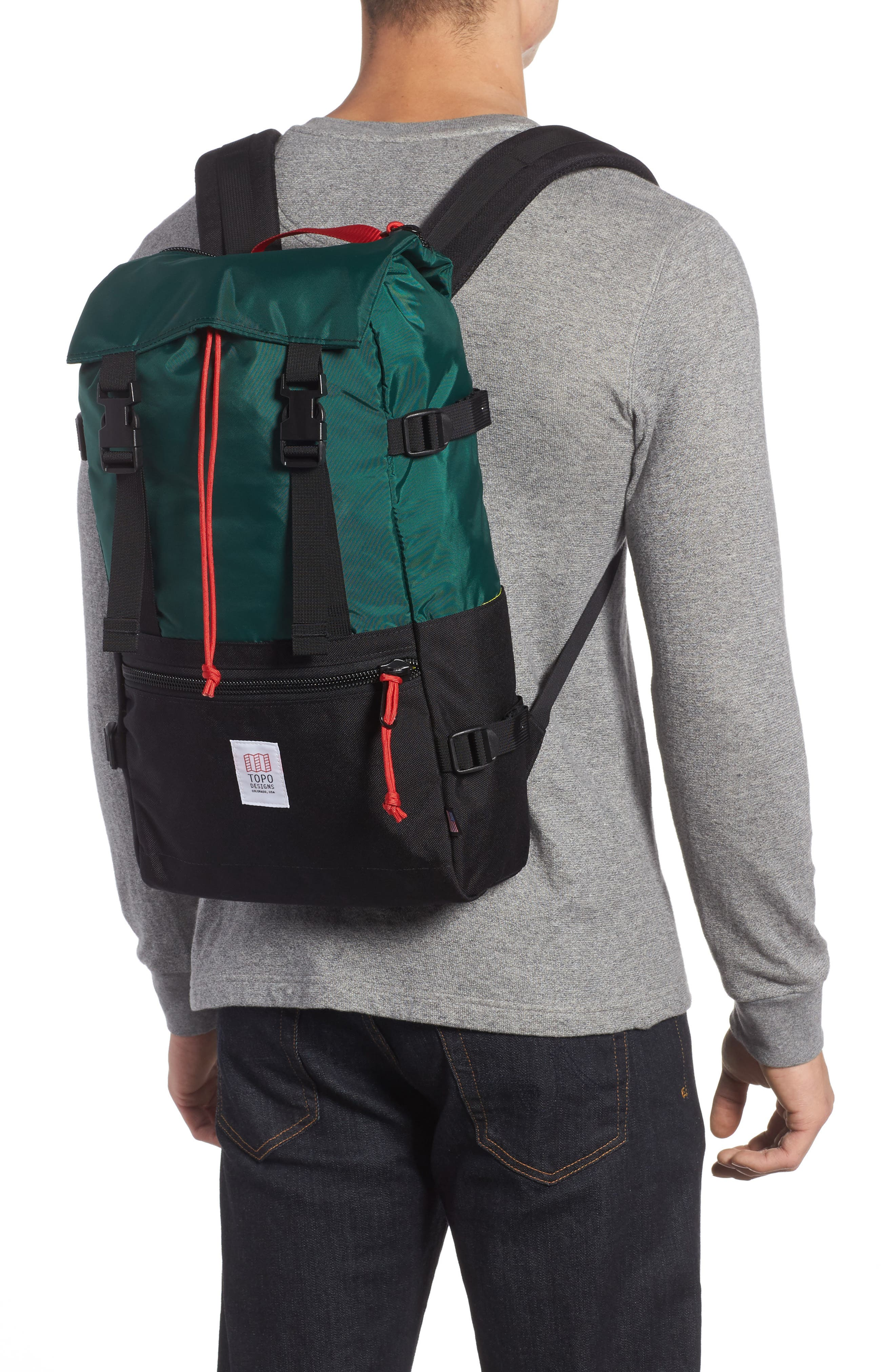 Rover Backpack,                             Alternate thumbnail 2, color,                             FOREST/ BLACK