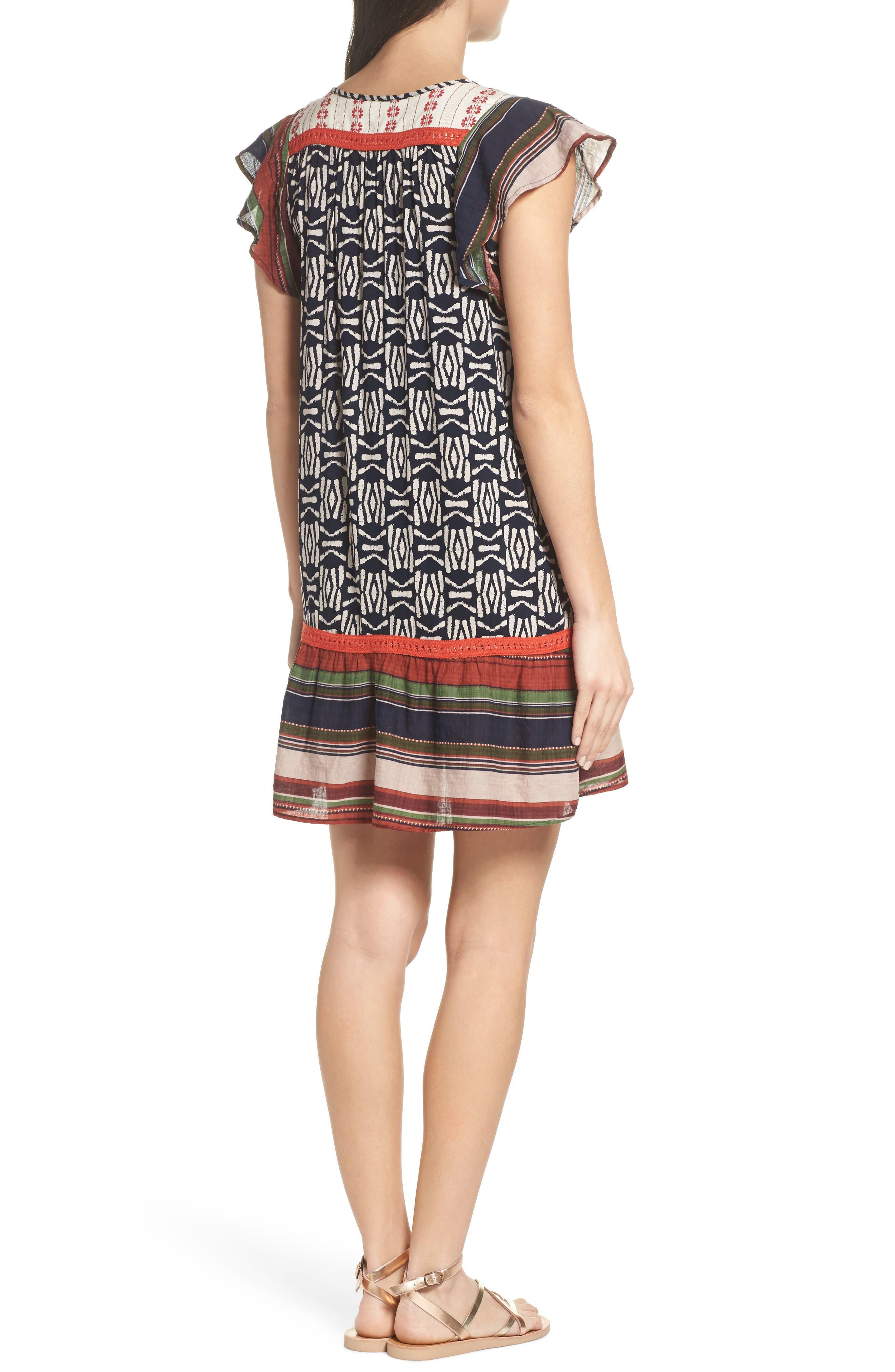 Drop Waist Dress,                             Alternate thumbnail 2, color,                             410