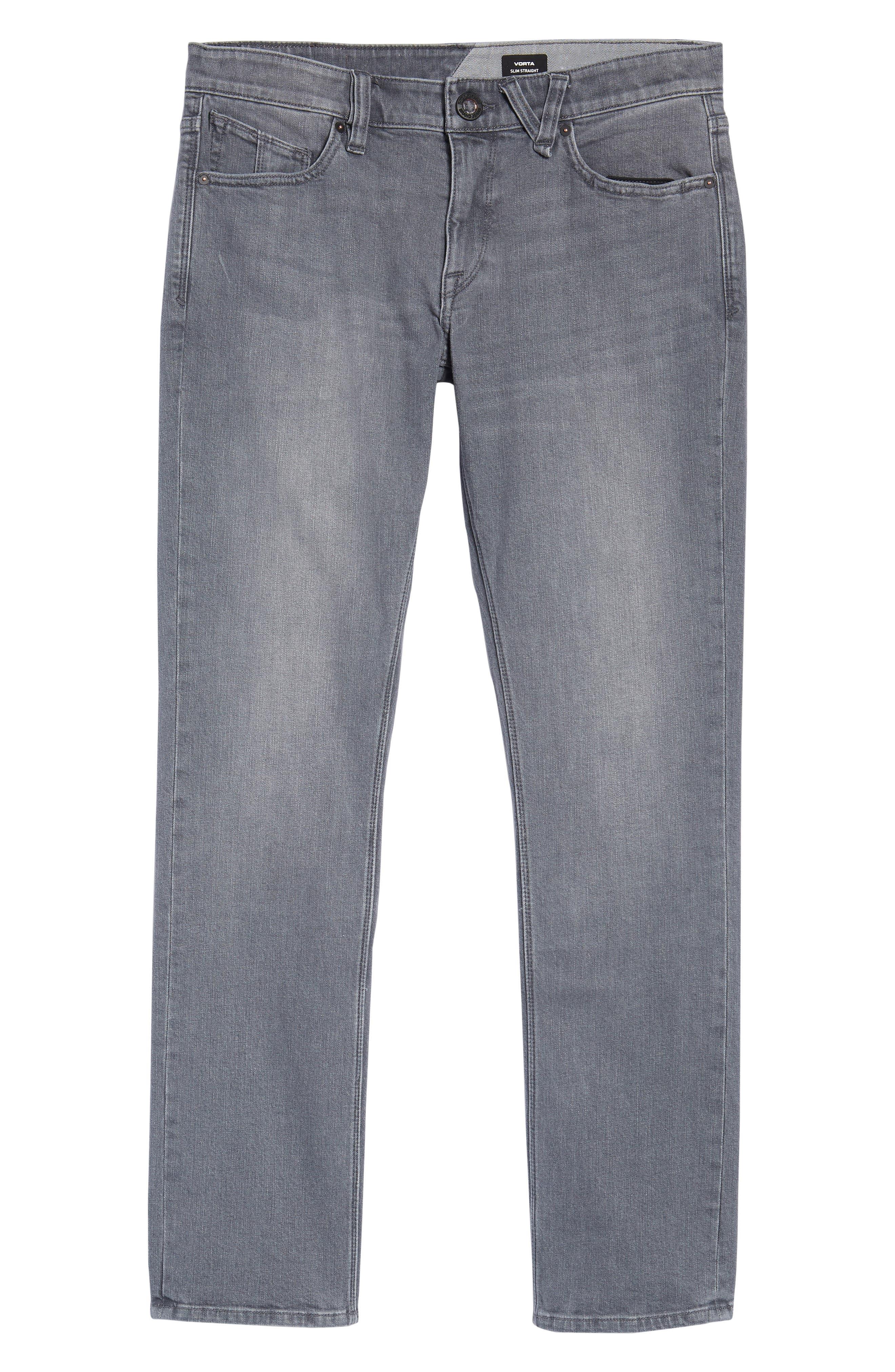 'Vorta' Slim Fit Jeans,                             Alternate thumbnail 30, color,