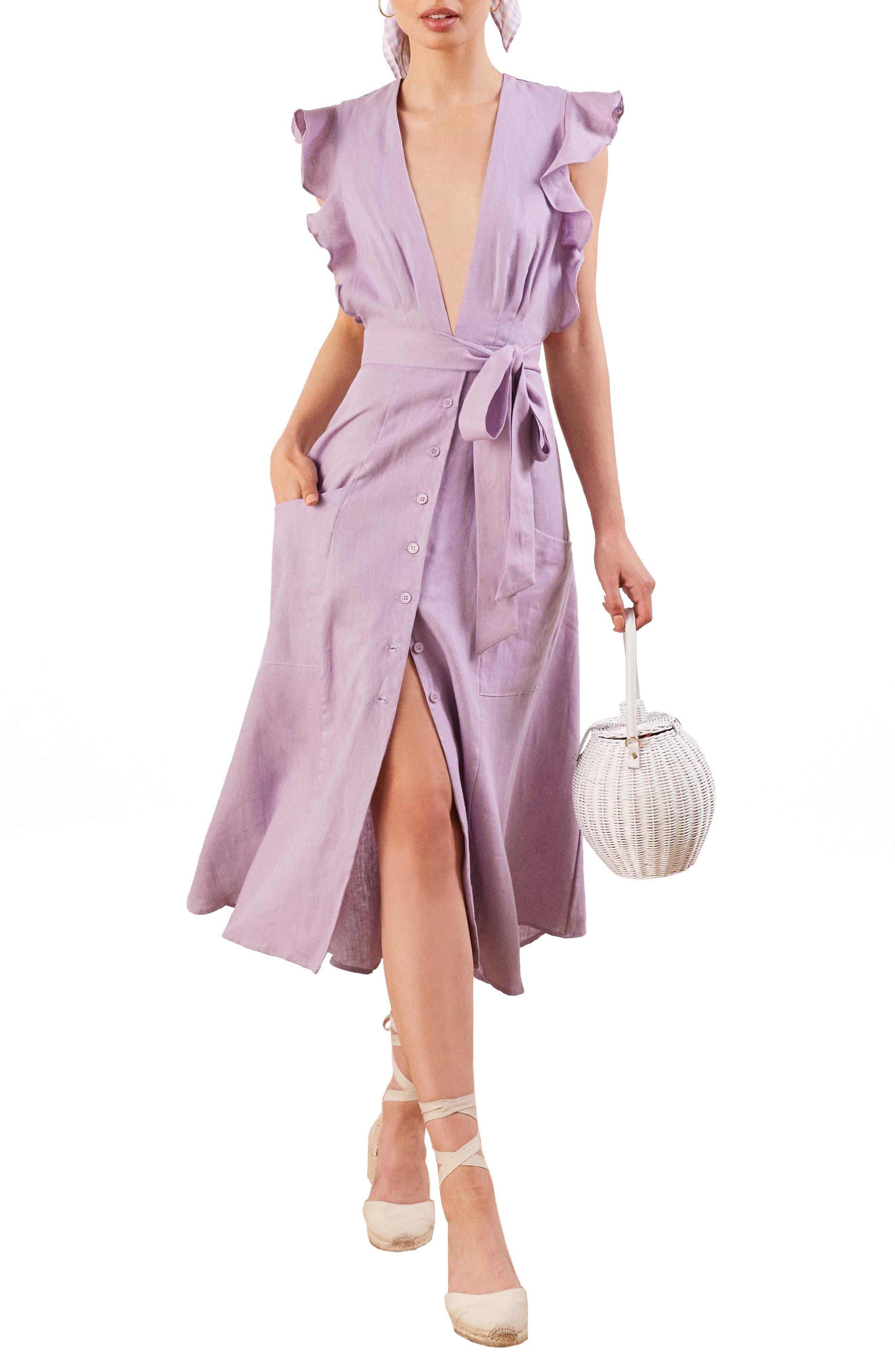 Serengeti Linen Dress,                         Main,                         color, 500