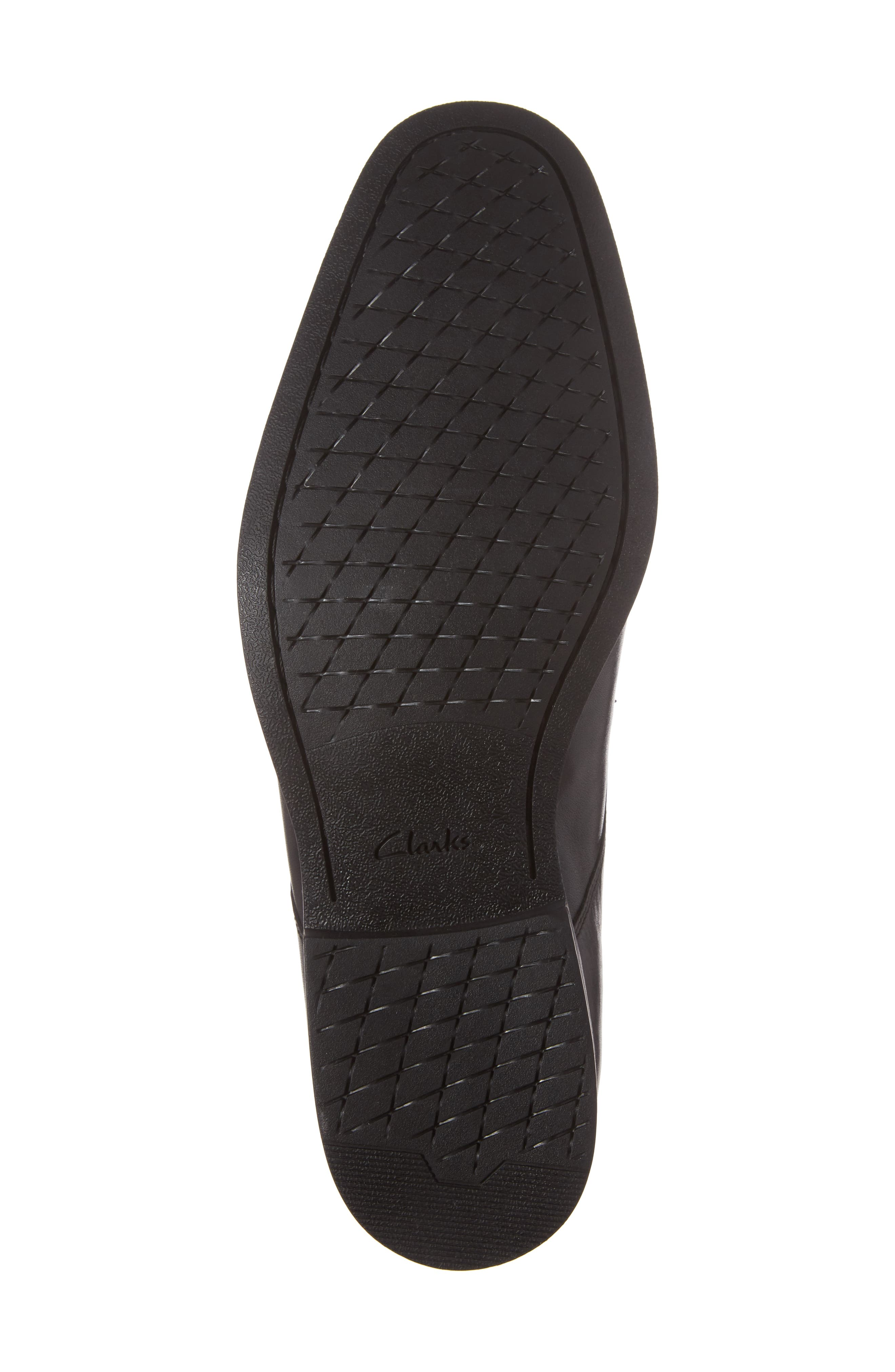 Gilman Lace Derby,                             Alternate thumbnail 6, color,                             BLACK LEATHER