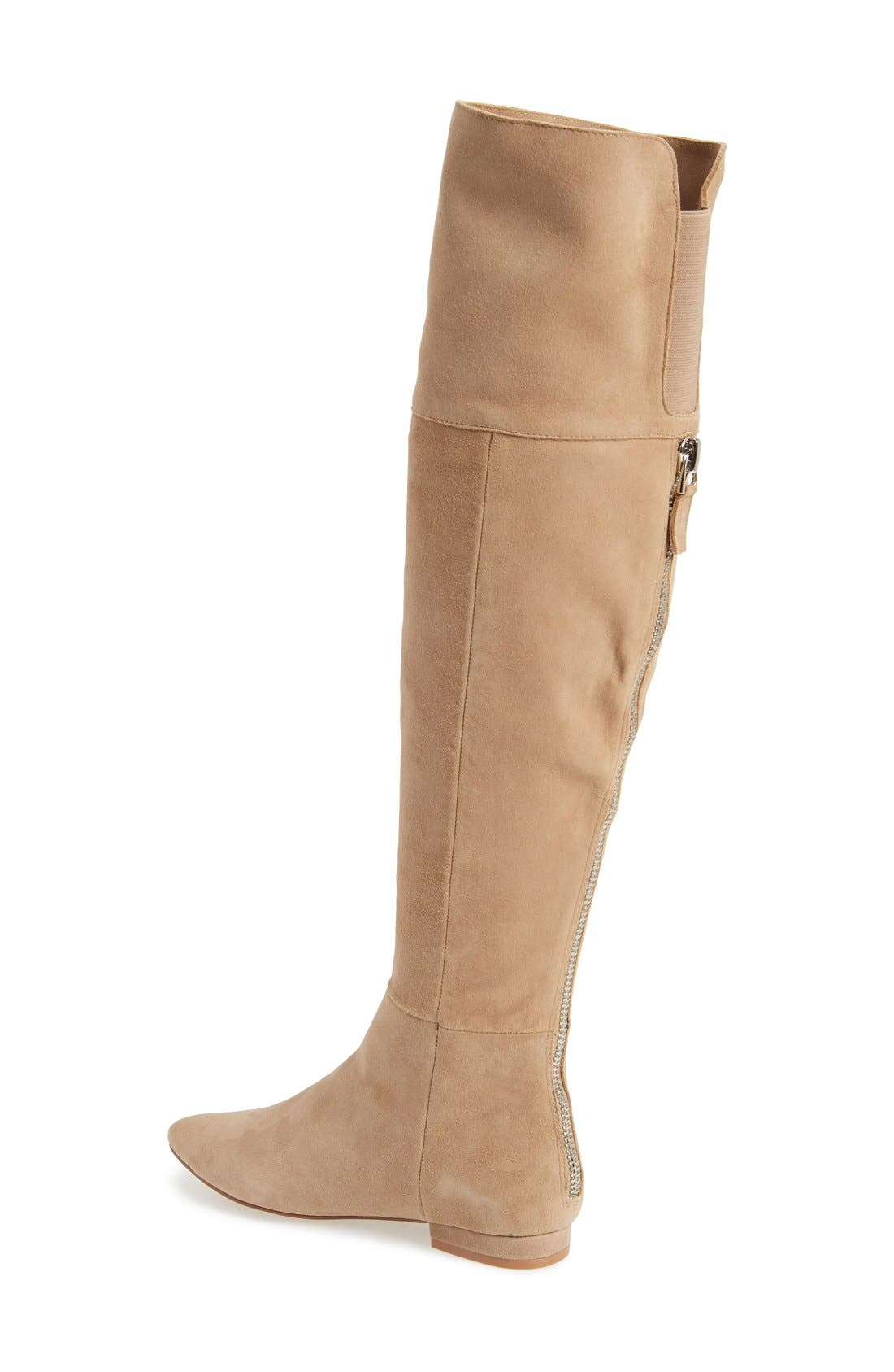 'York' Over the Knee Boot,                             Alternate thumbnail 2, color,                             250