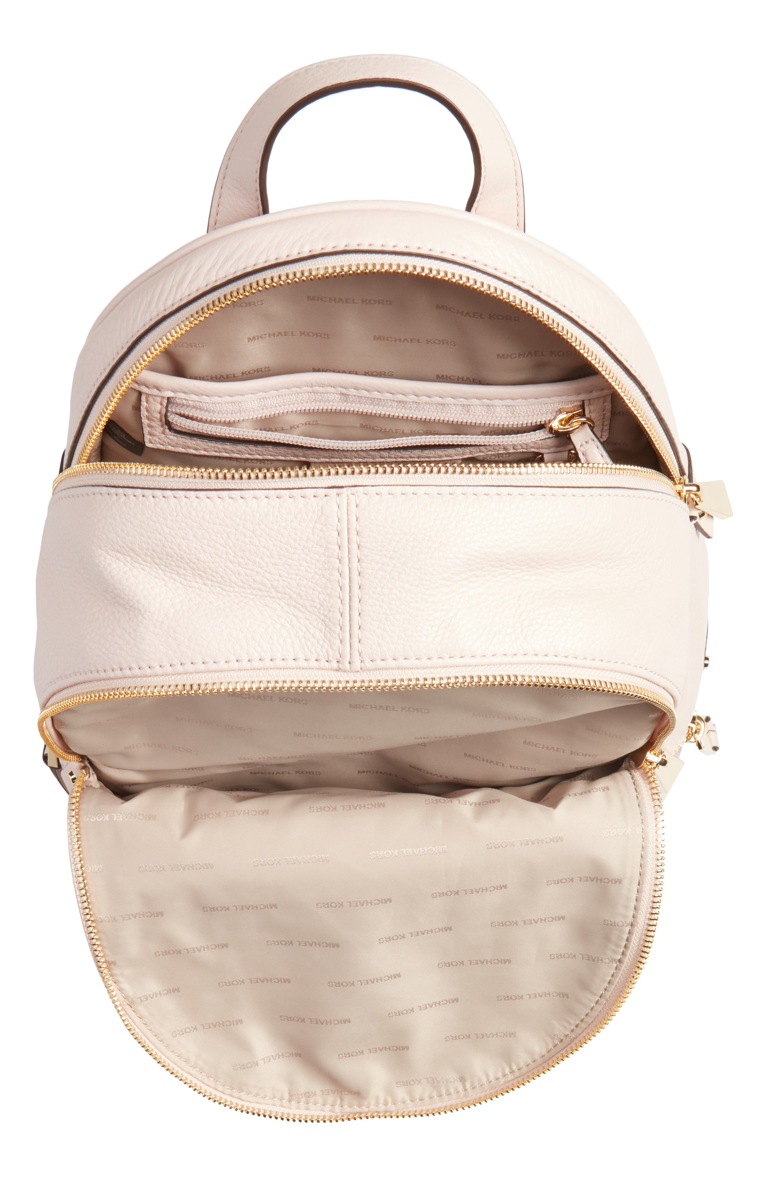 'Extra Small Rhea Zip' Leather Backpack,                             Alternate thumbnail 29, color,