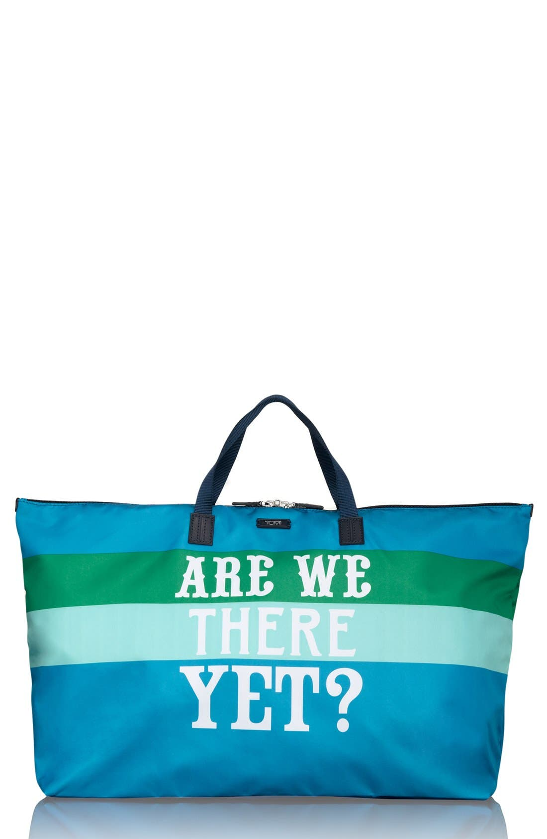 'Are We There Yet?' Nylon Tote,                             Main thumbnail 1, color,                             450