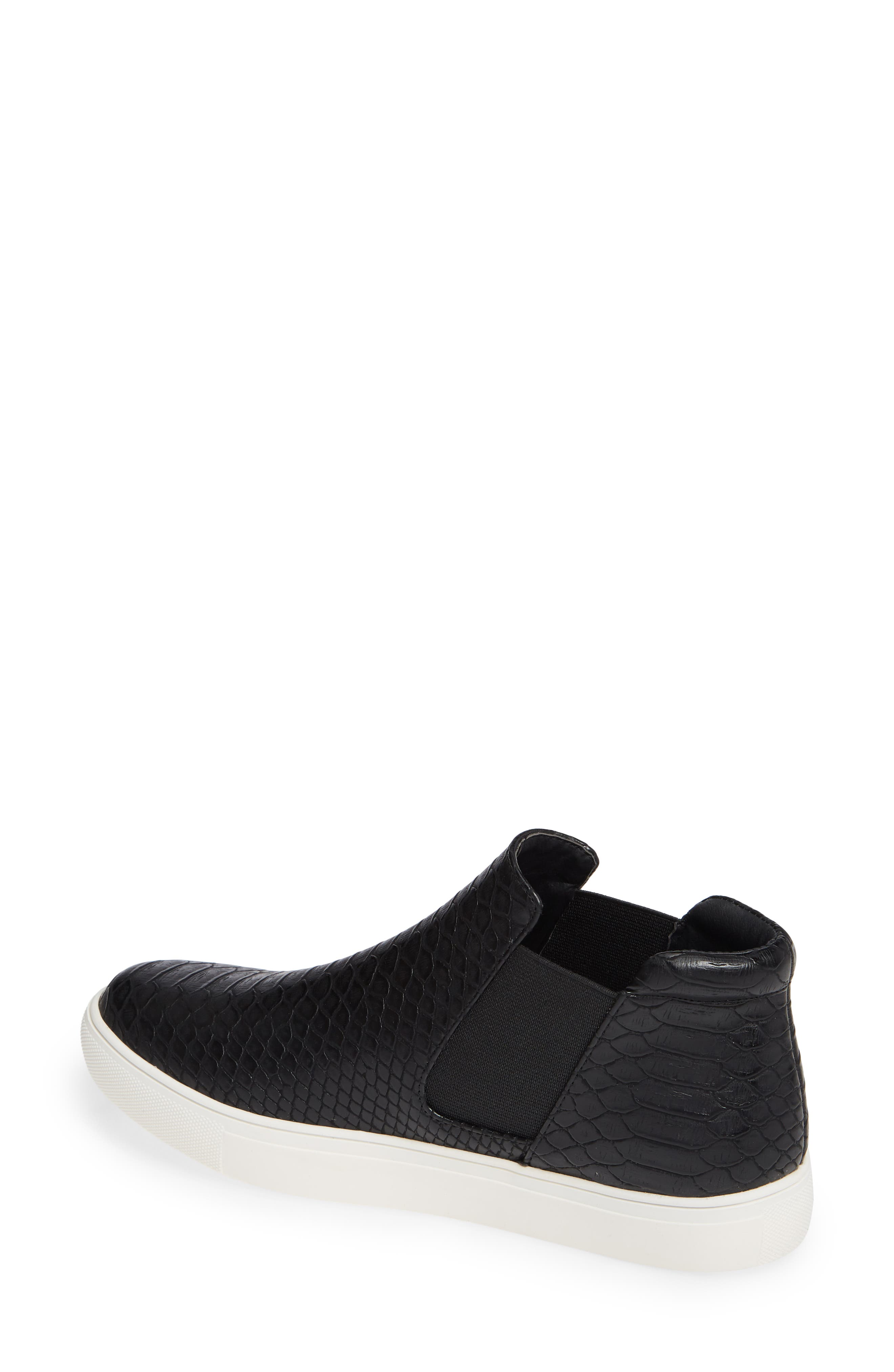 Harlan Slip-On Sneaker,                             Alternate thumbnail 2, color,                             BLACK SNAKE PRINT