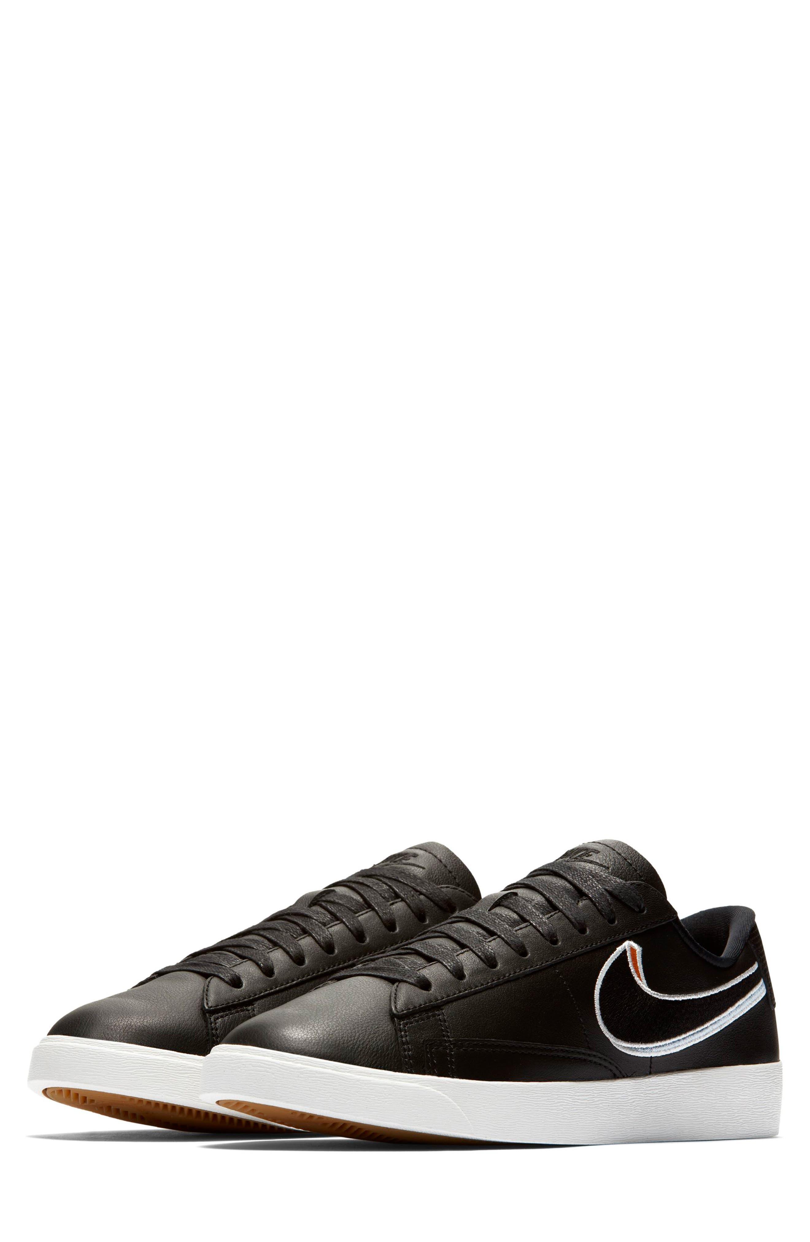 Blazer Low LX Sneaker,                         Main,                         color, BLACK/ ROYAL TINT/ MONARCH