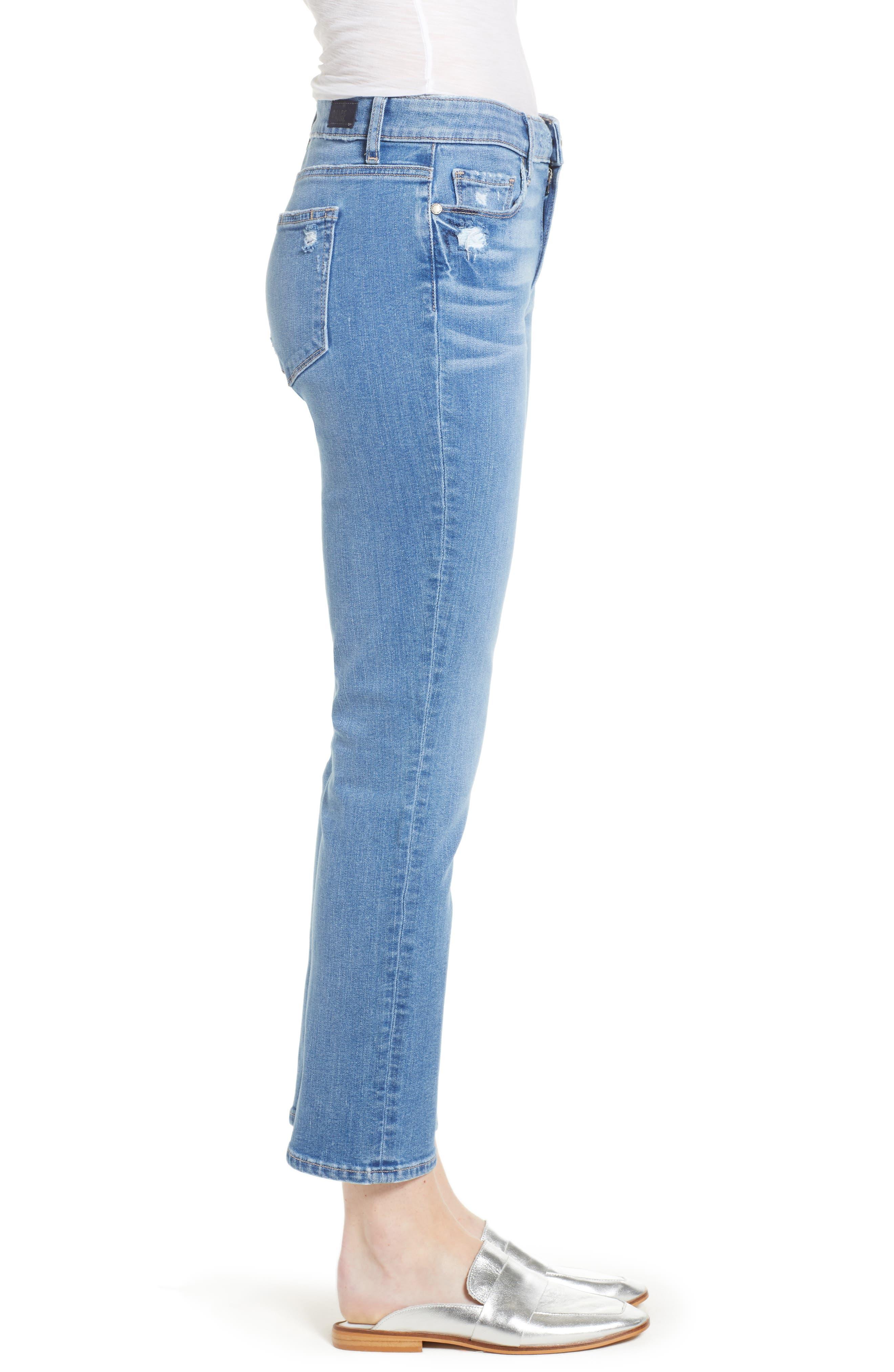 Transcend Vintage - Jimmy Jimmy High Waist Crop Boyfriend Jeans,                             Alternate thumbnail 3, color,                             VINTAGE VENICE