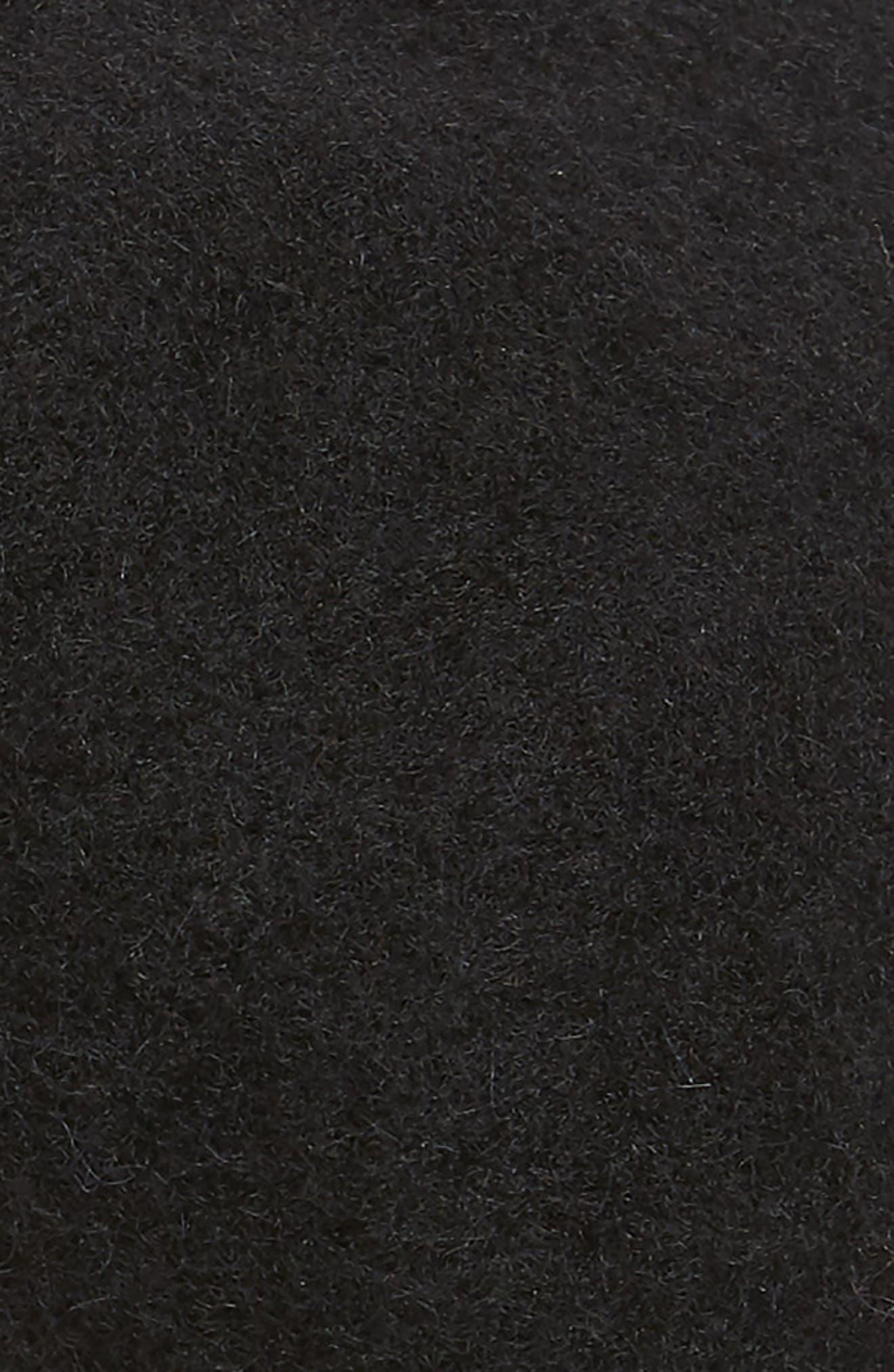 Wool Beret,                             Alternate thumbnail 2, color,                             BLACK