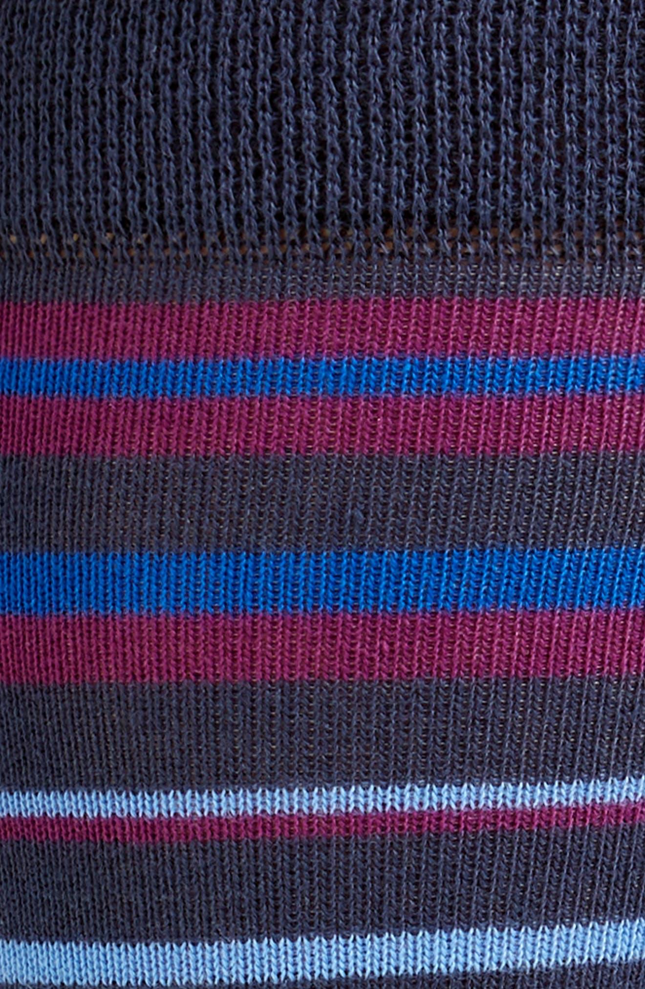 Sisma Stripe Socks,                             Alternate thumbnail 2, color,                             NAVY