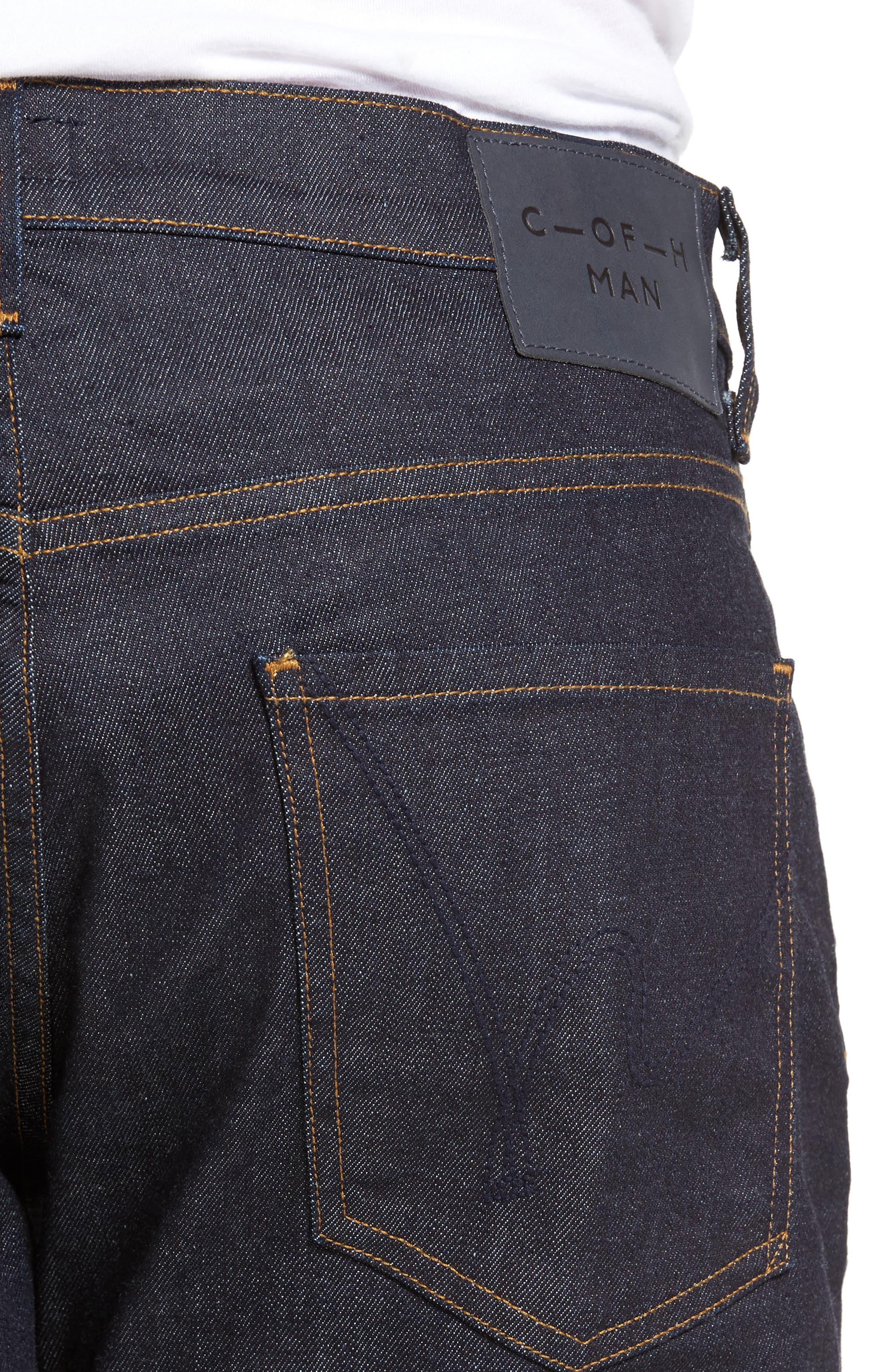 Sid Classic Straight Leg Jeans,                             Alternate thumbnail 5, color,                             LAFAYETTE