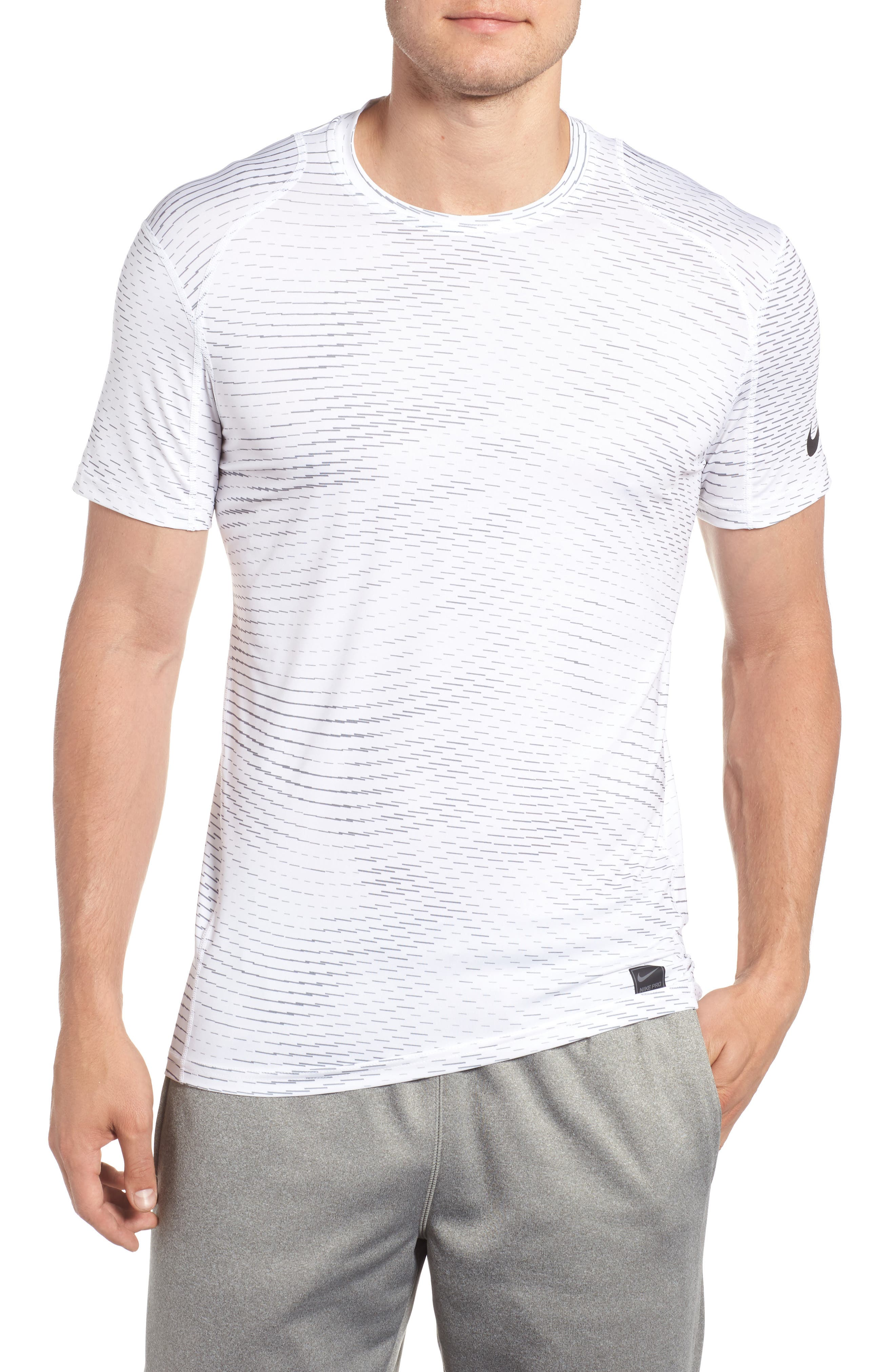 Fitted Athletic T-Shirt,                             Main thumbnail 2, color,