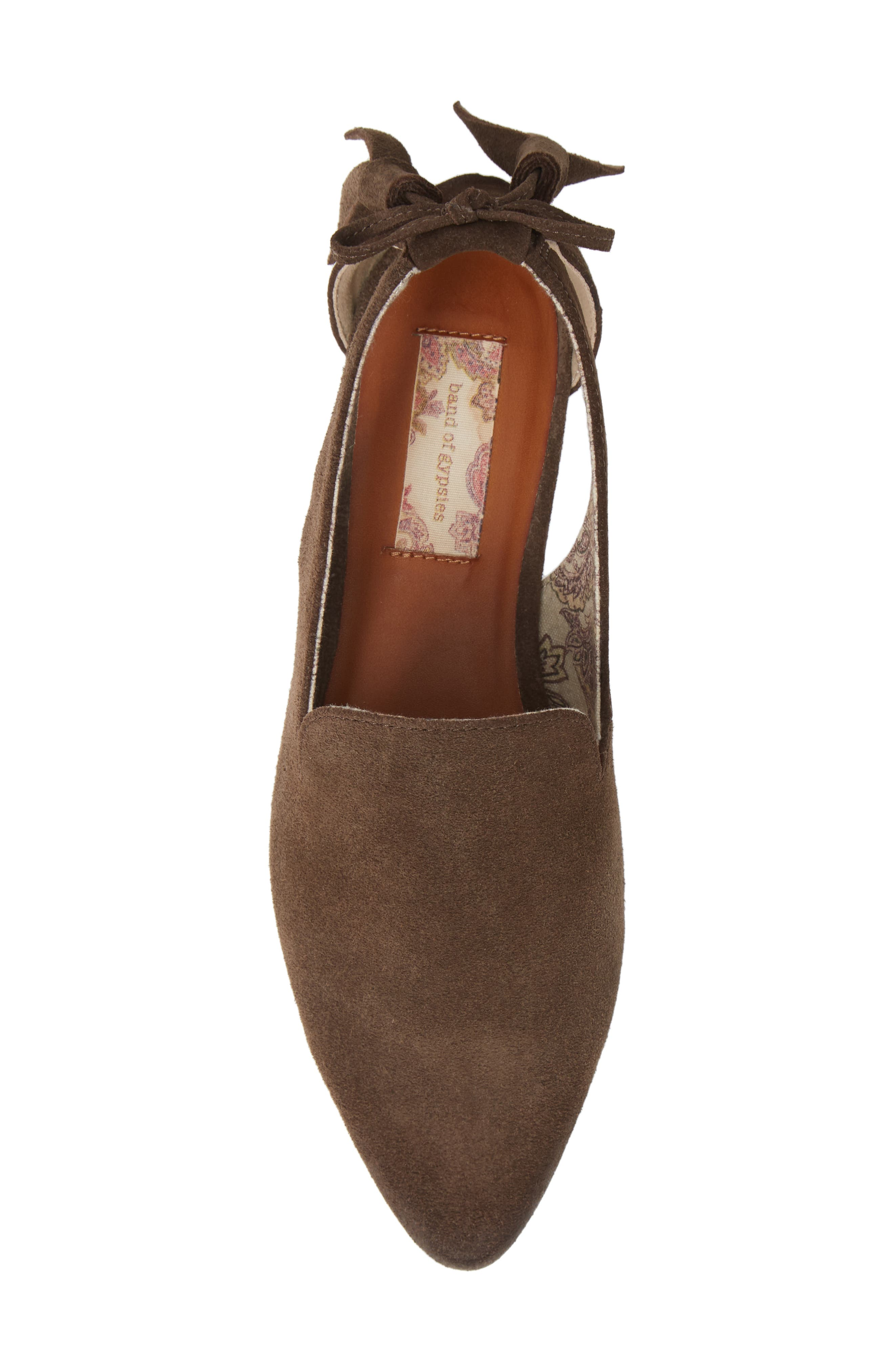 Songbird Loafer,                             Alternate thumbnail 5, color,                             TAUPE COW SUEDE