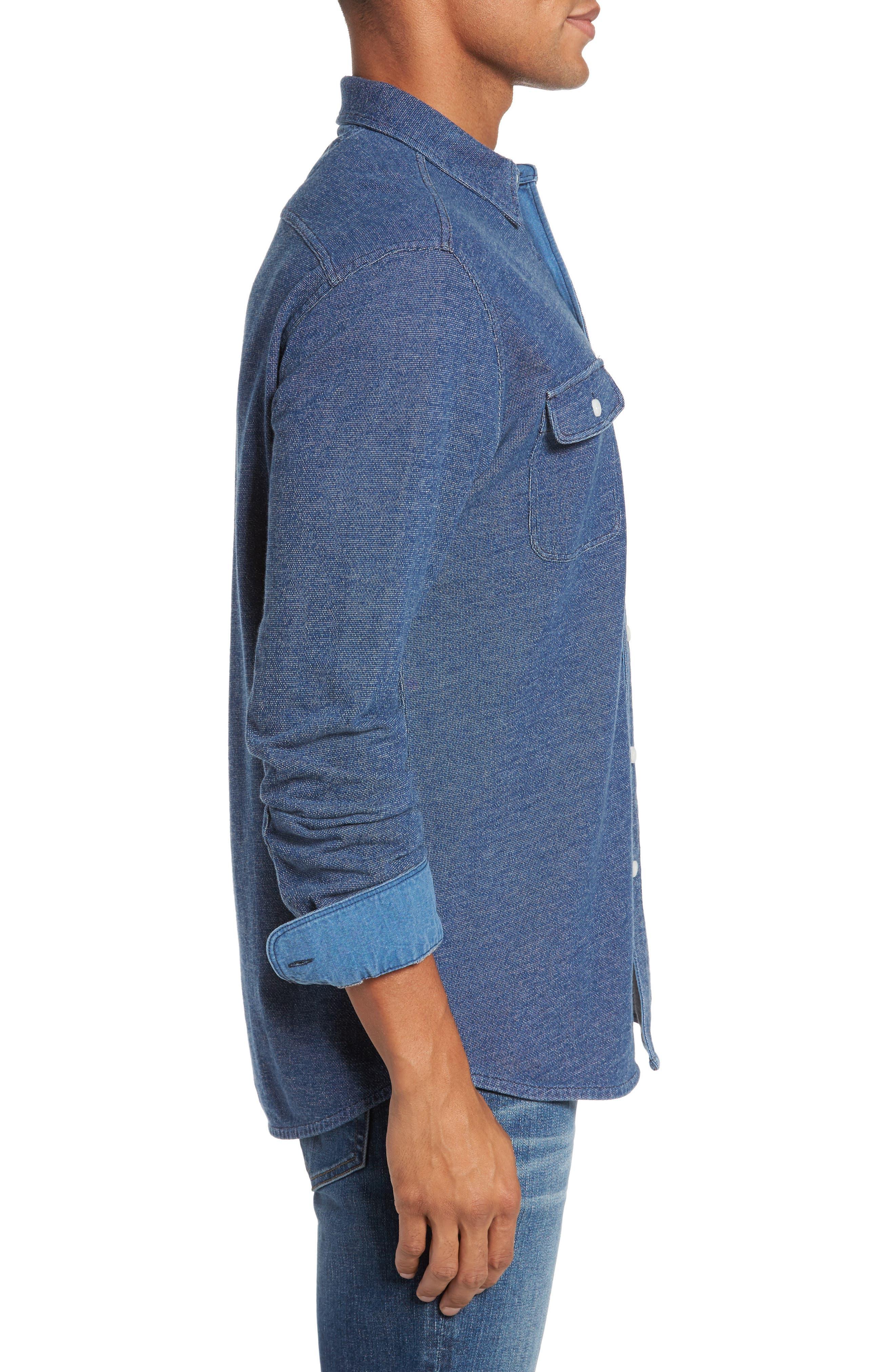 Belmar Knit Sport Shirt,                             Alternate thumbnail 3, color,                             404