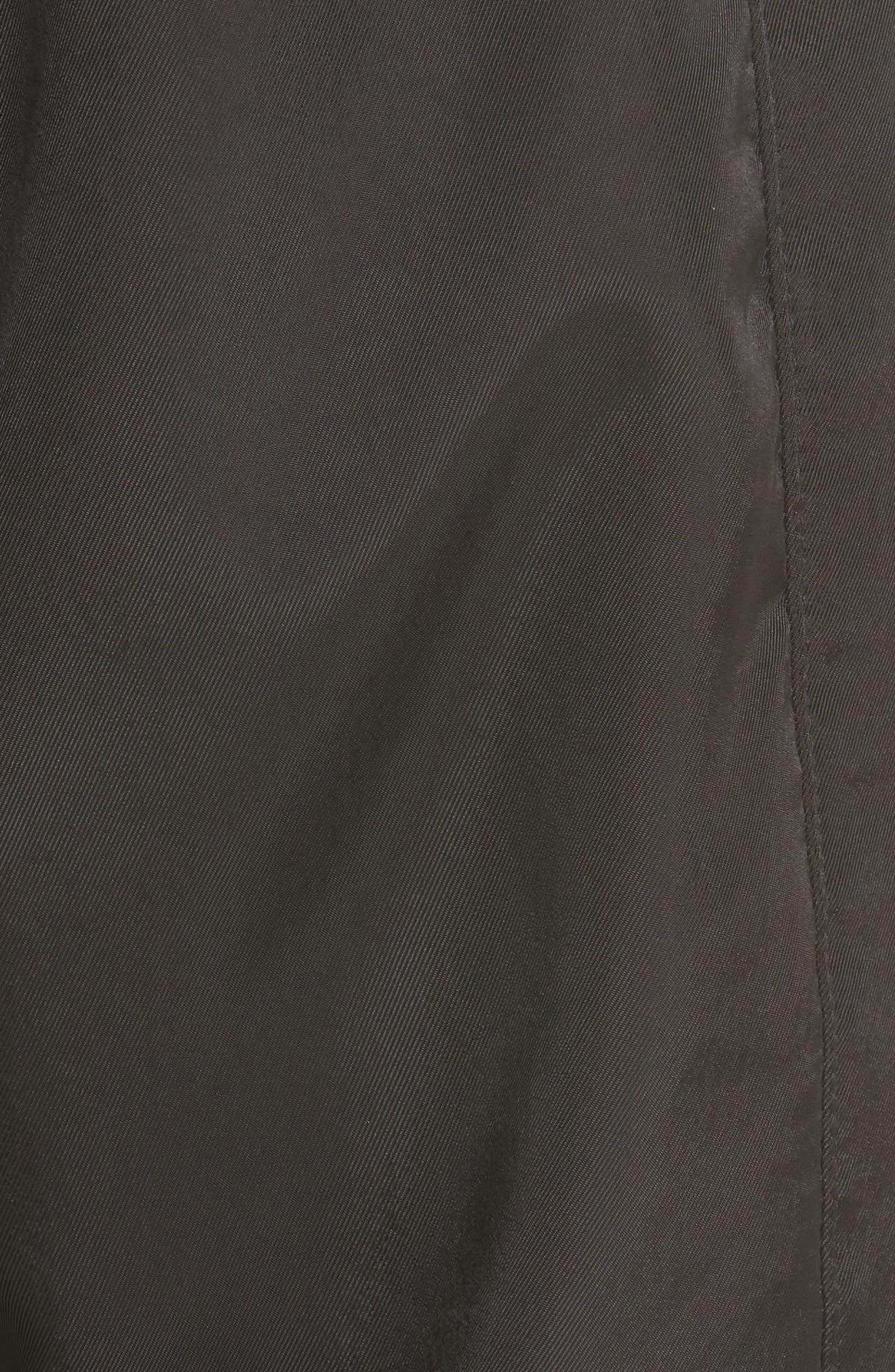 Fold Detail Jogger Pants,                             Alternate thumbnail 5, color,                             BLACK