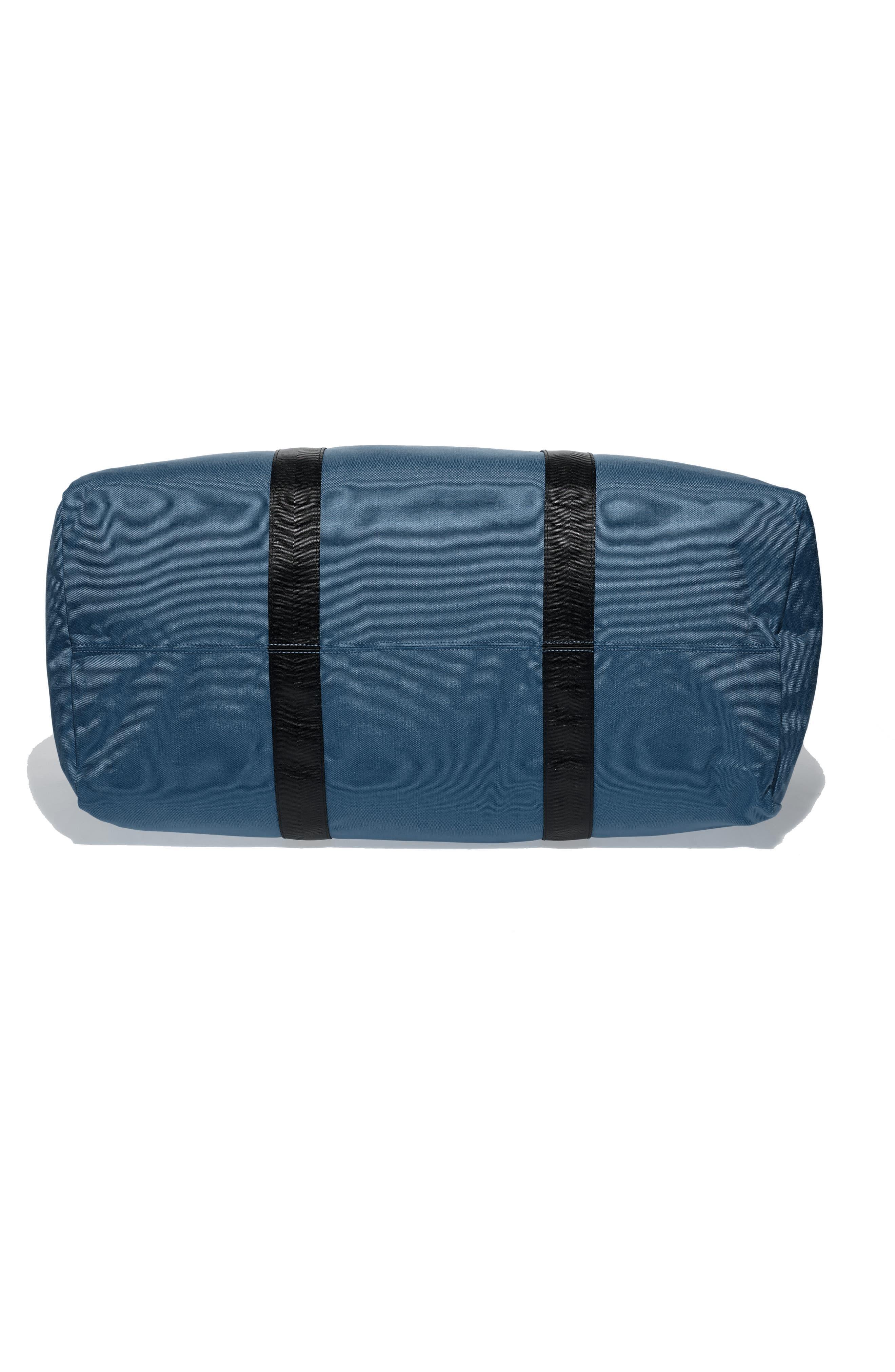 SWS 100L Roll Top Duffel Bag,                             Alternate thumbnail 5, color,                             NAVY