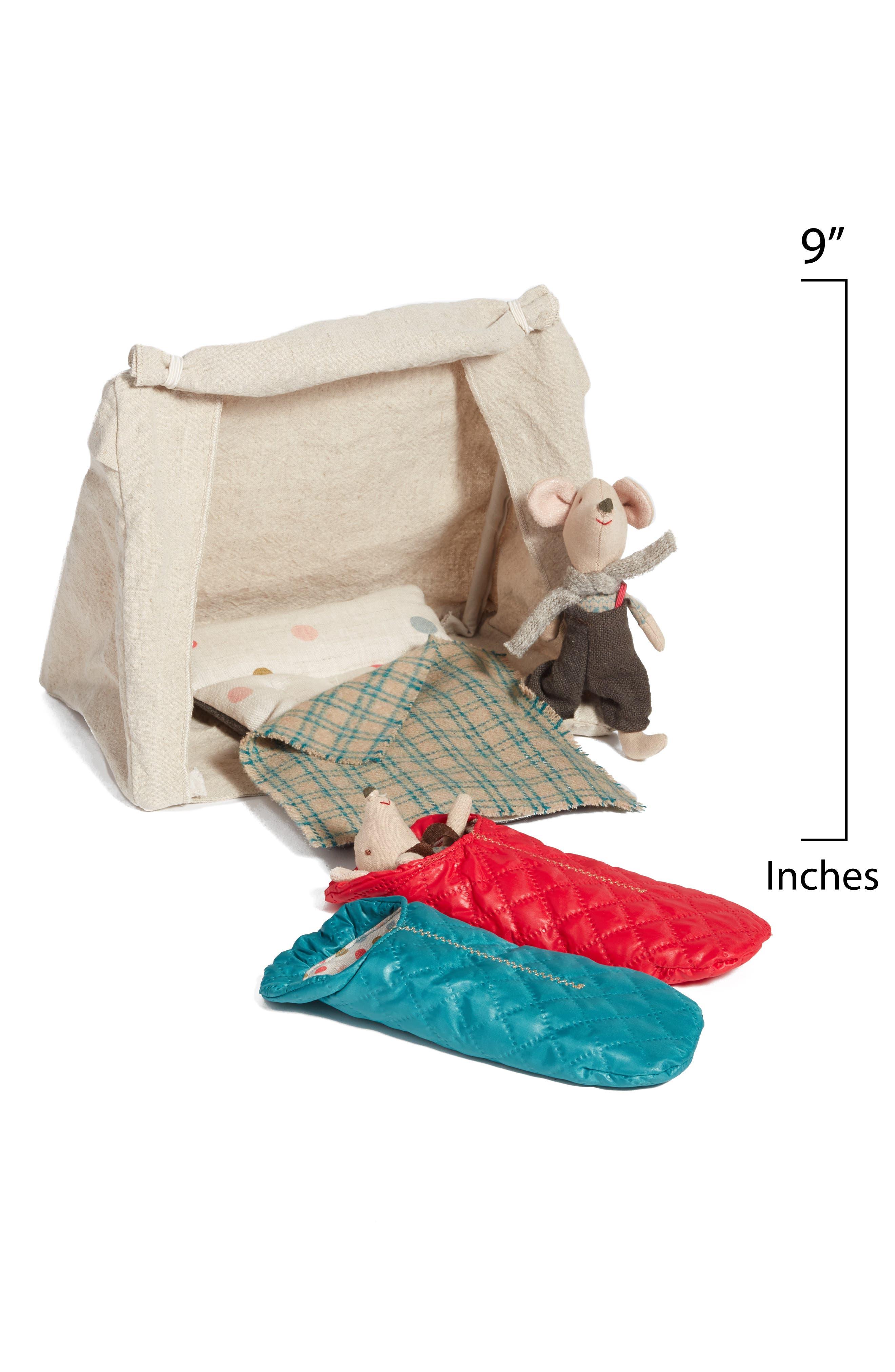 Mouse Tent 5-Piece Play Set,                             Alternate thumbnail 2, color,                             401