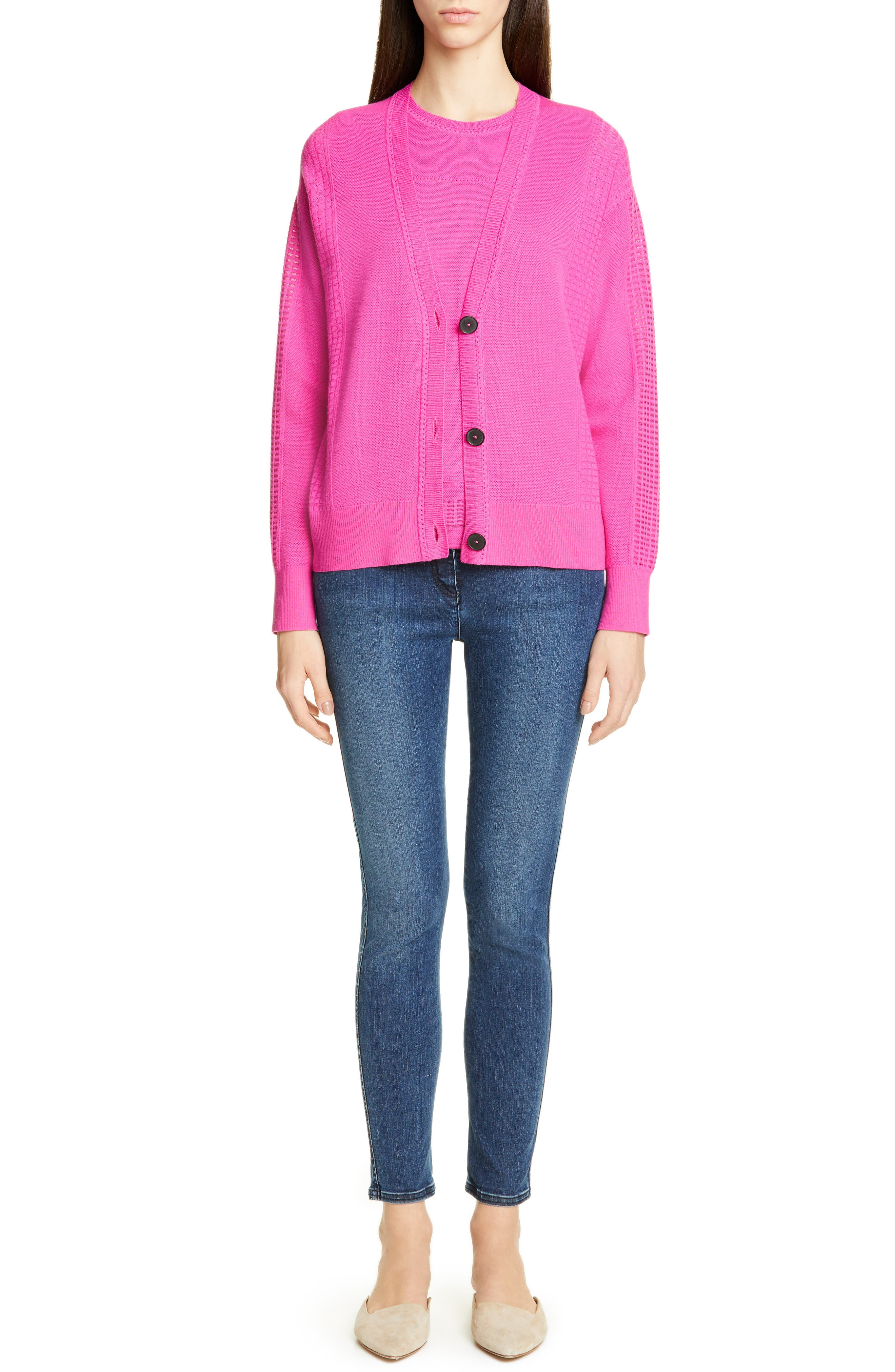 Women's St. John Collection Jeans,  10 - Blue