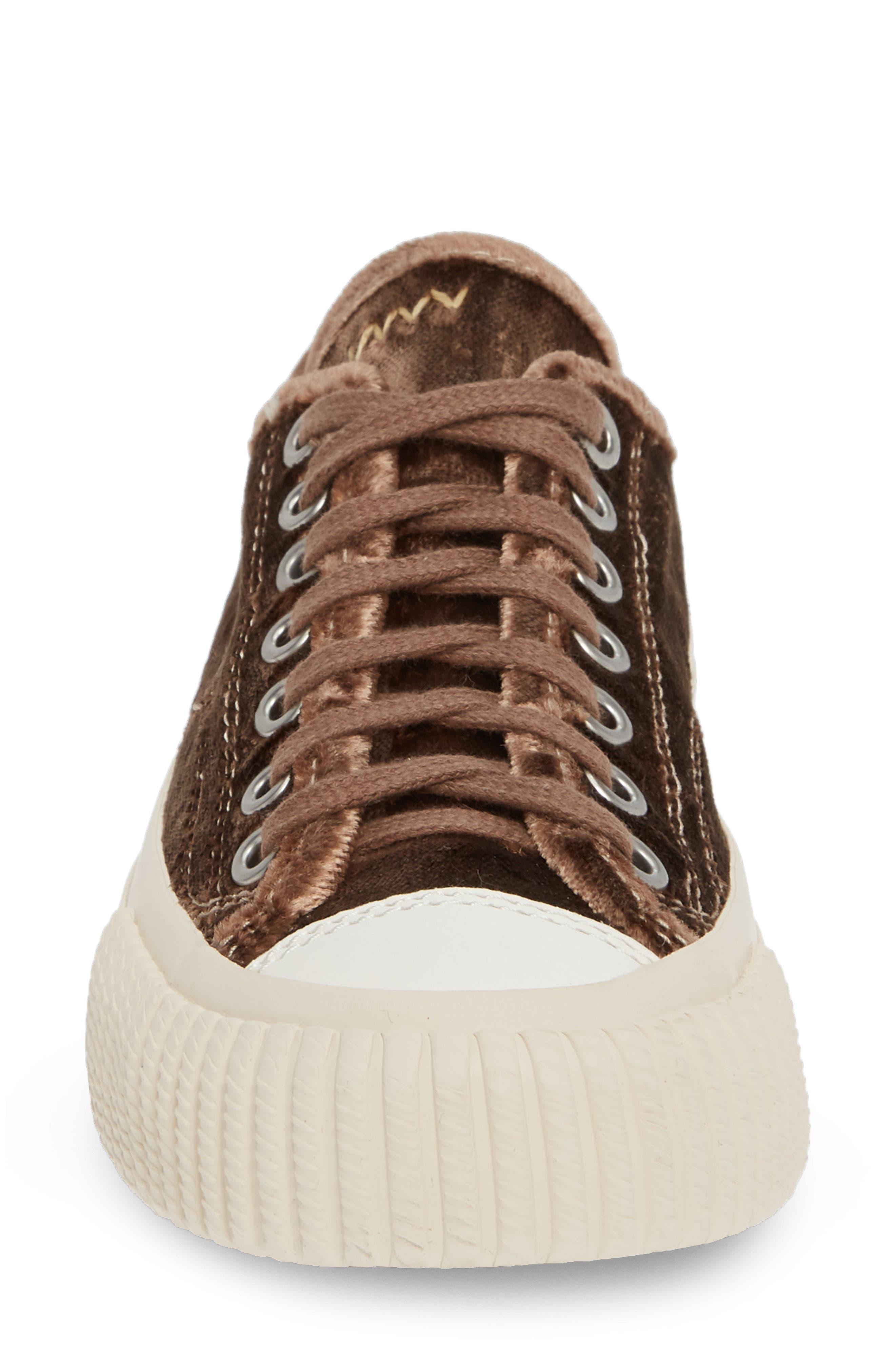 Skagway Lo Sneaker,                             Alternate thumbnail 4, color,                             BROWN