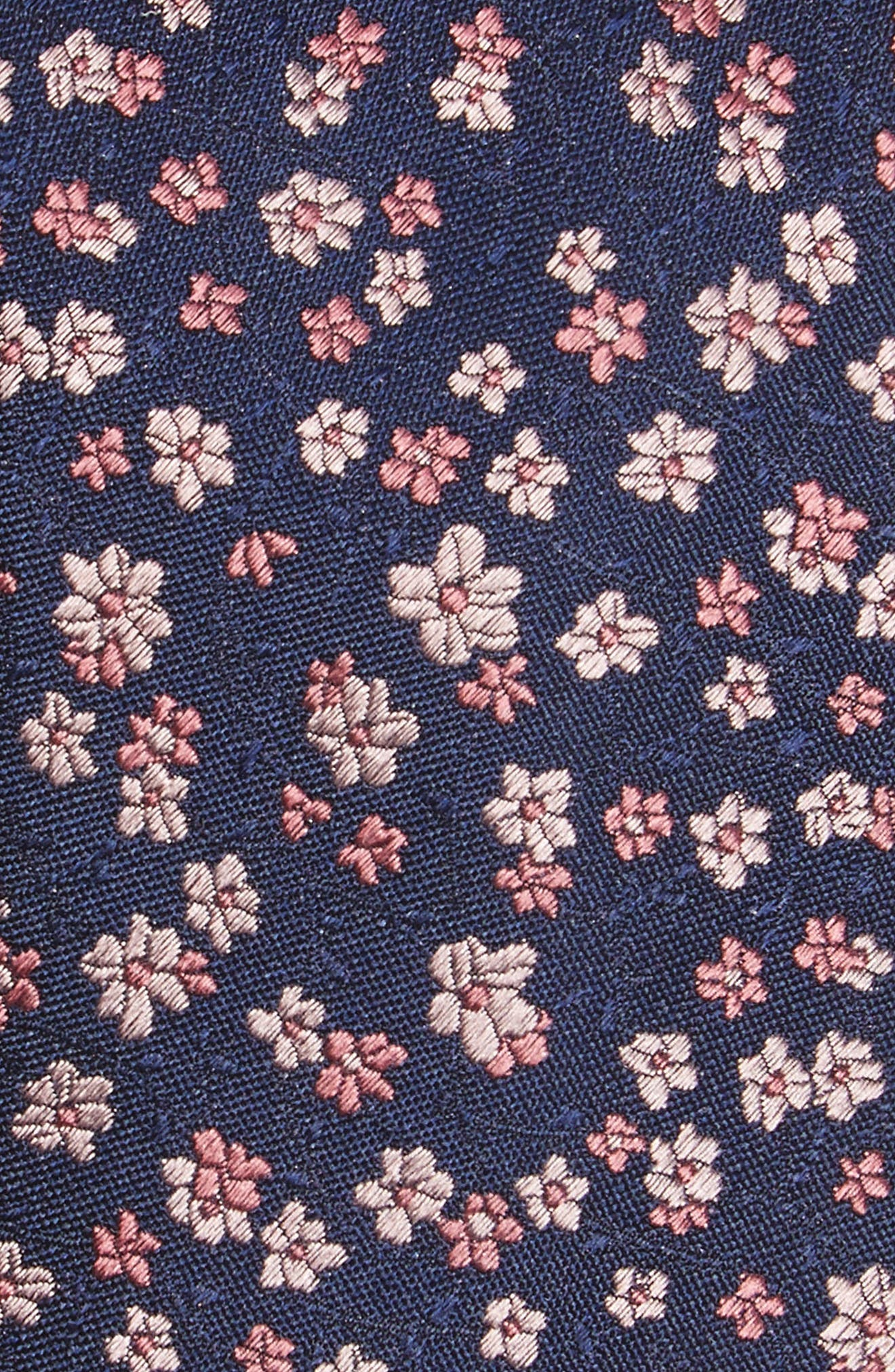 Freefall Floral Silk Tie,                             Alternate thumbnail 16, color,
