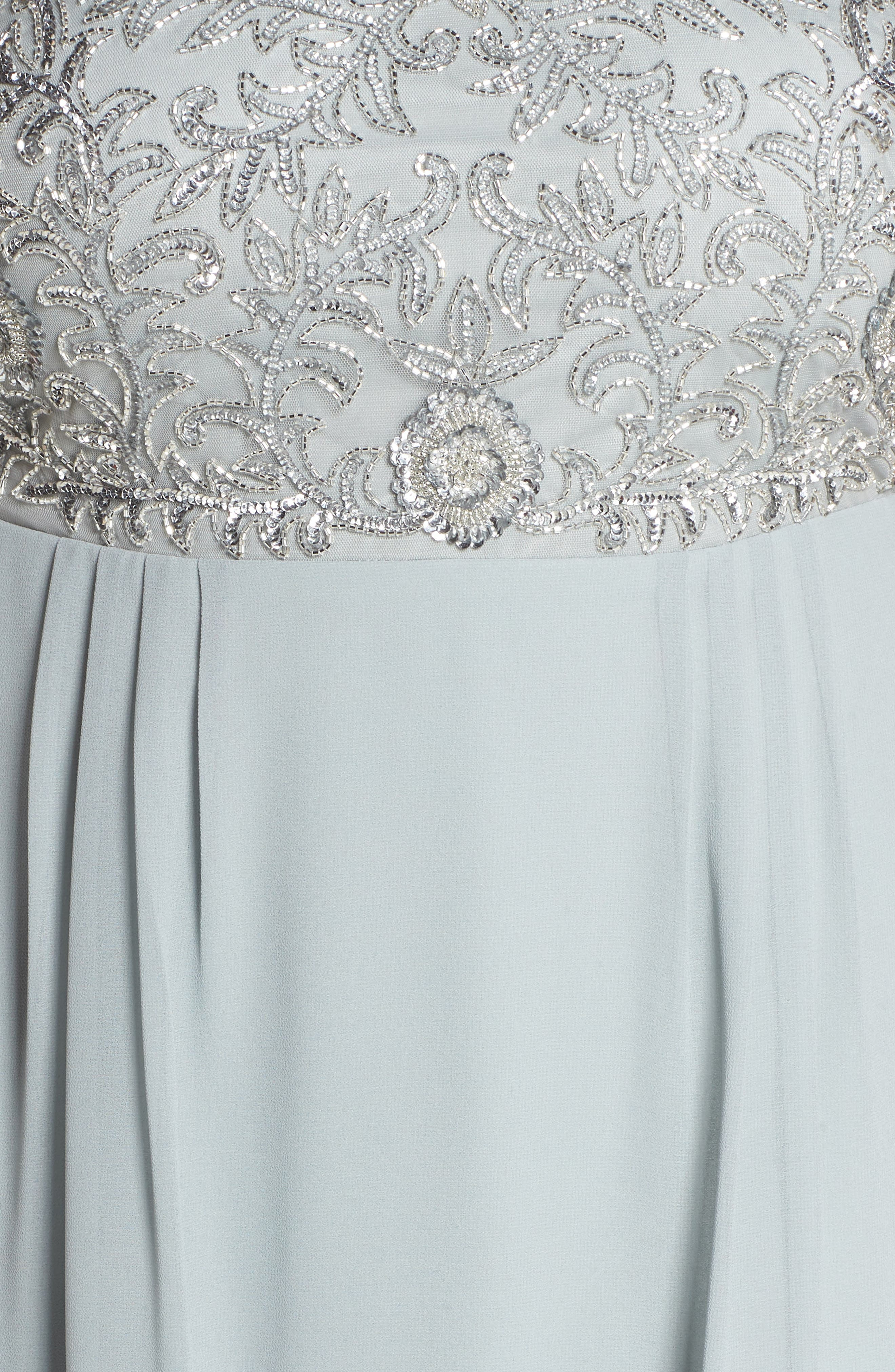 Beaded Midi Dress,                             Alternate thumbnail 5, color,                             484