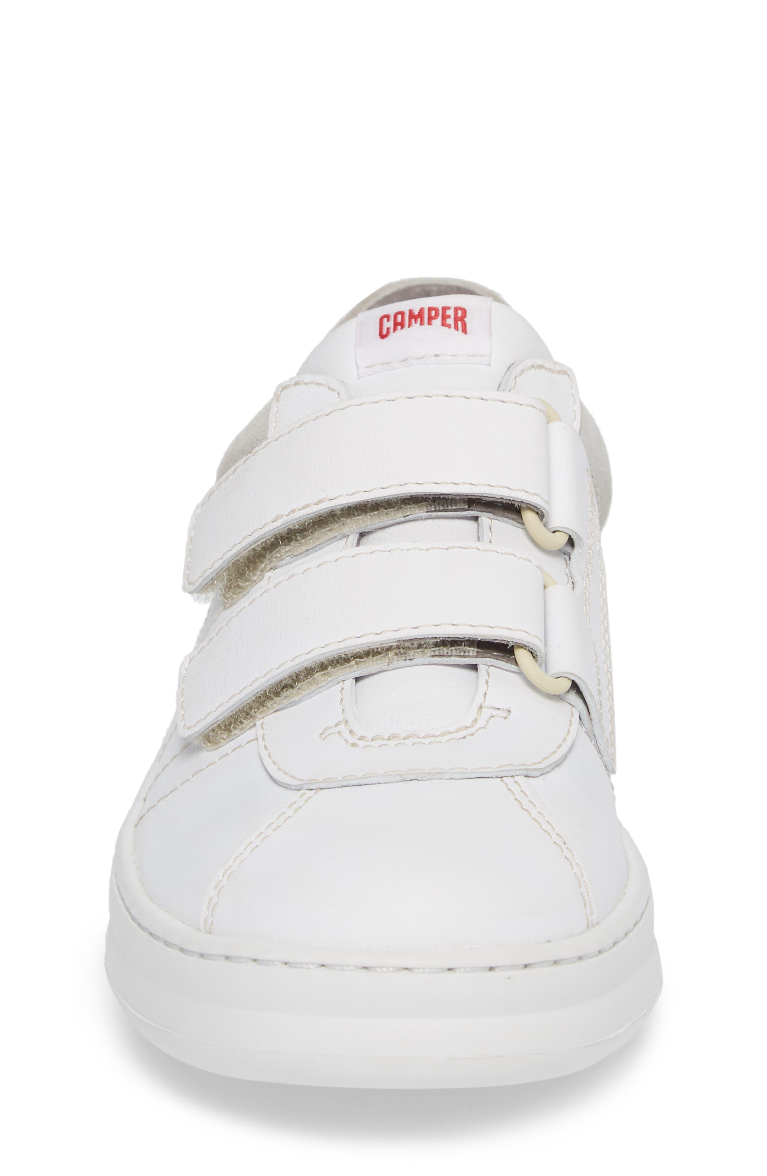 Runner Sneaker,                             Alternate thumbnail 4, color,                             WHITE