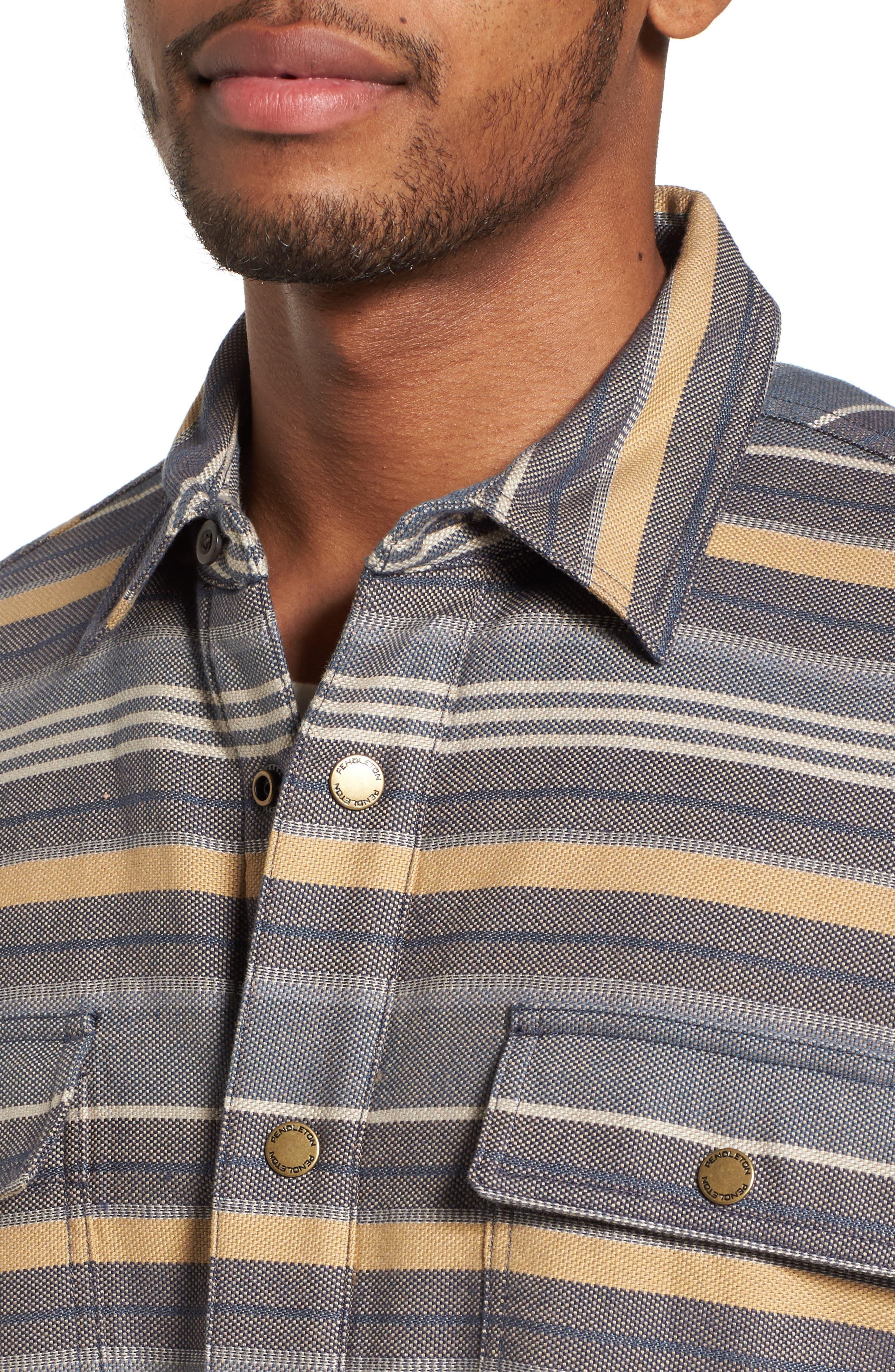Fleece Lined Shirt Jacket,                             Alternate thumbnail 4, color,                             460