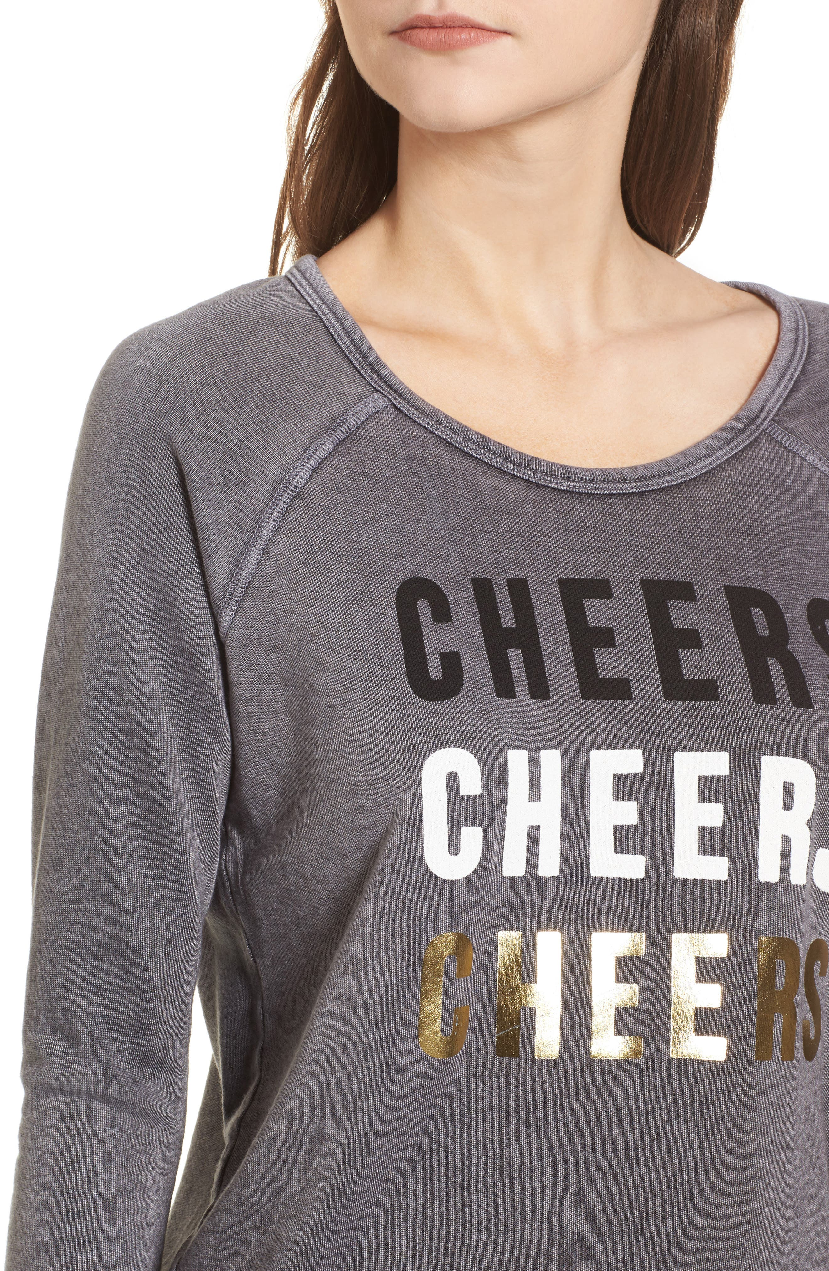 Cheers Sweatshirt,                             Alternate thumbnail 4, color,                             021