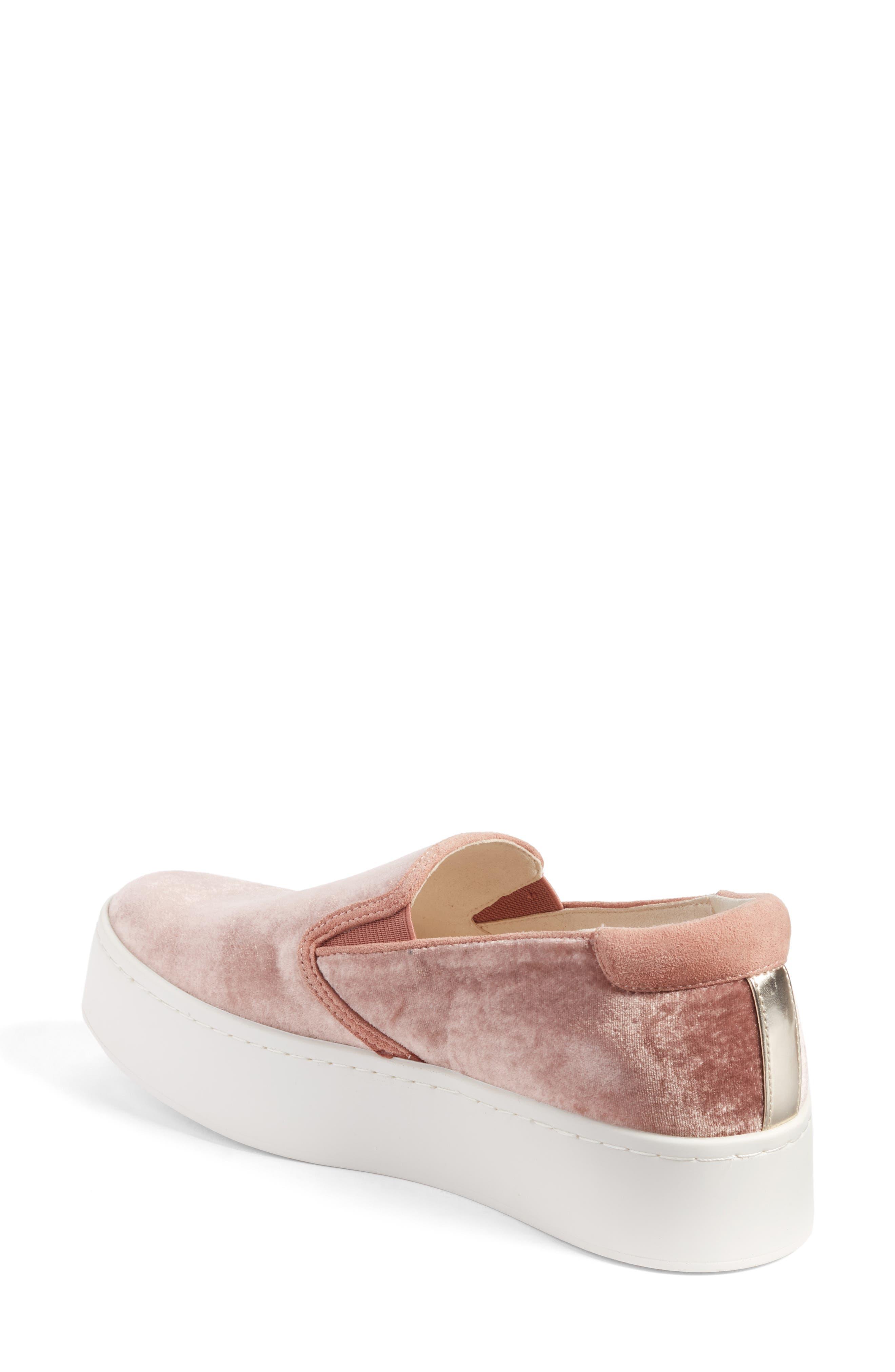 Joanie Slip-On Platform Sneaker,                             Alternate thumbnail 19, color,