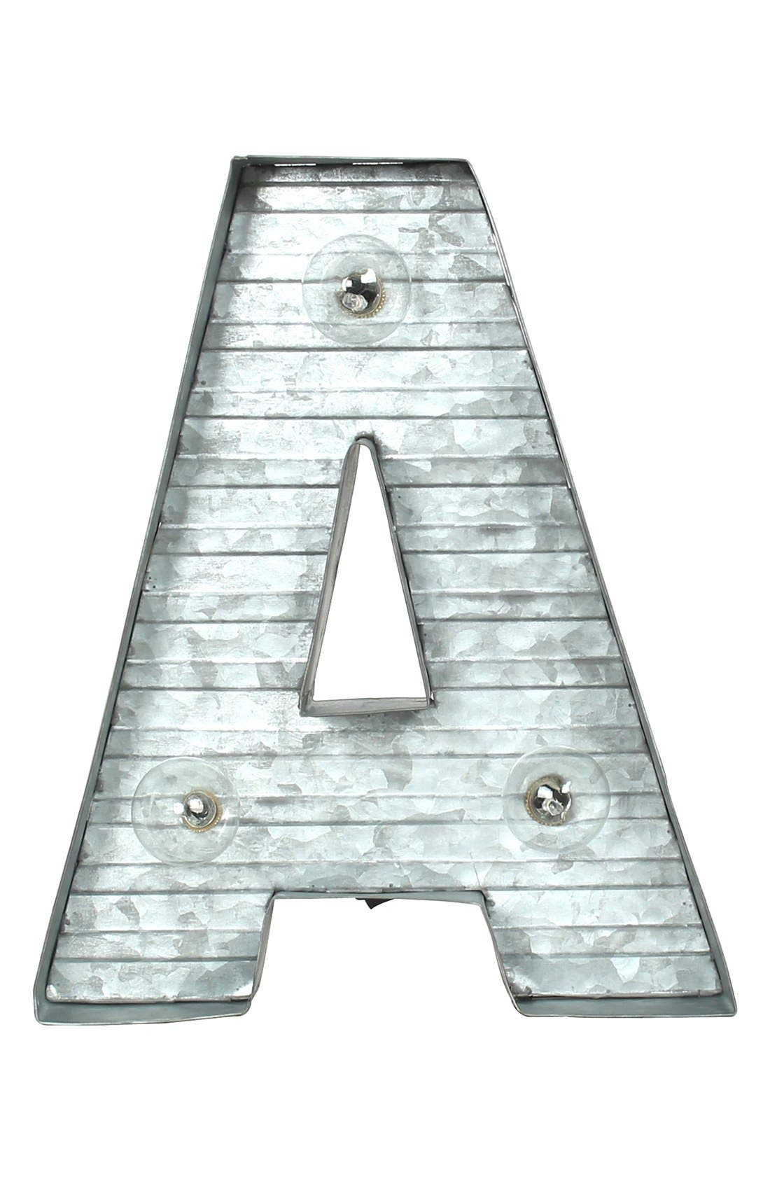 CRYSTAL ART GALLERY,                             LED Metal Marquee Letter Light,                             Alternate thumbnail 2, color,                             040