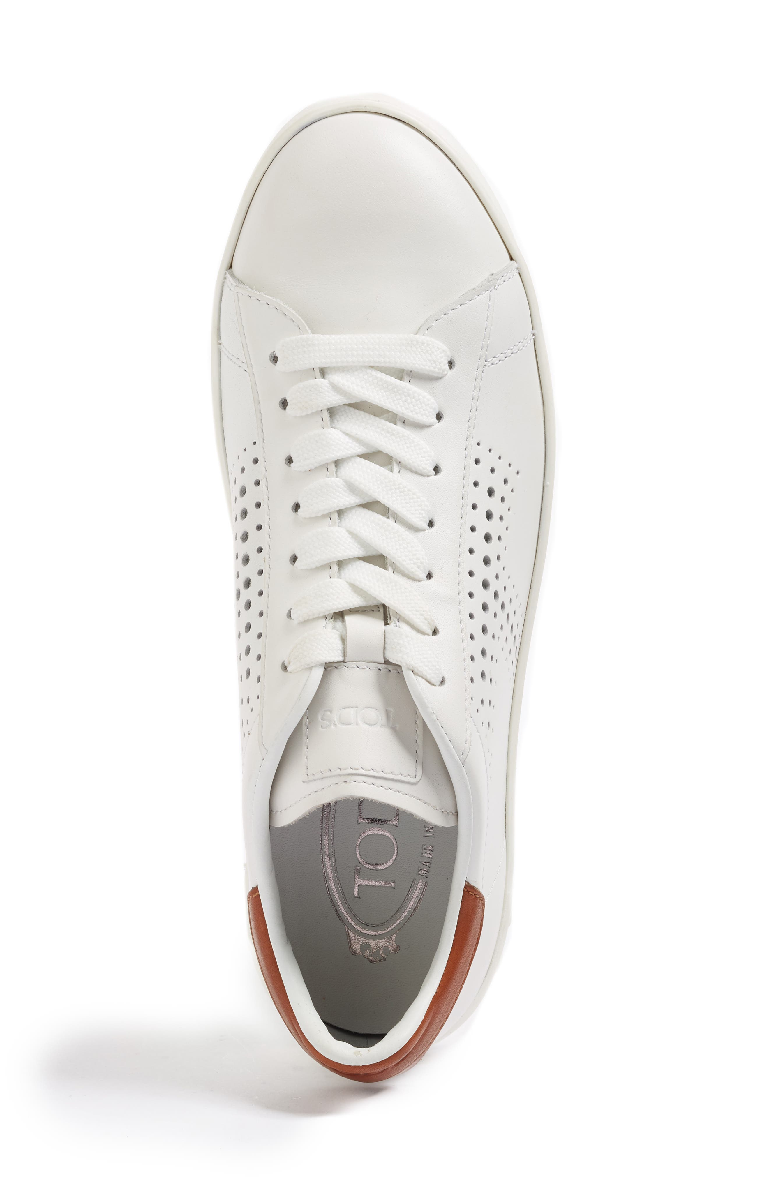 Perforated T Sneaker,                             Alternate thumbnail 10, color,