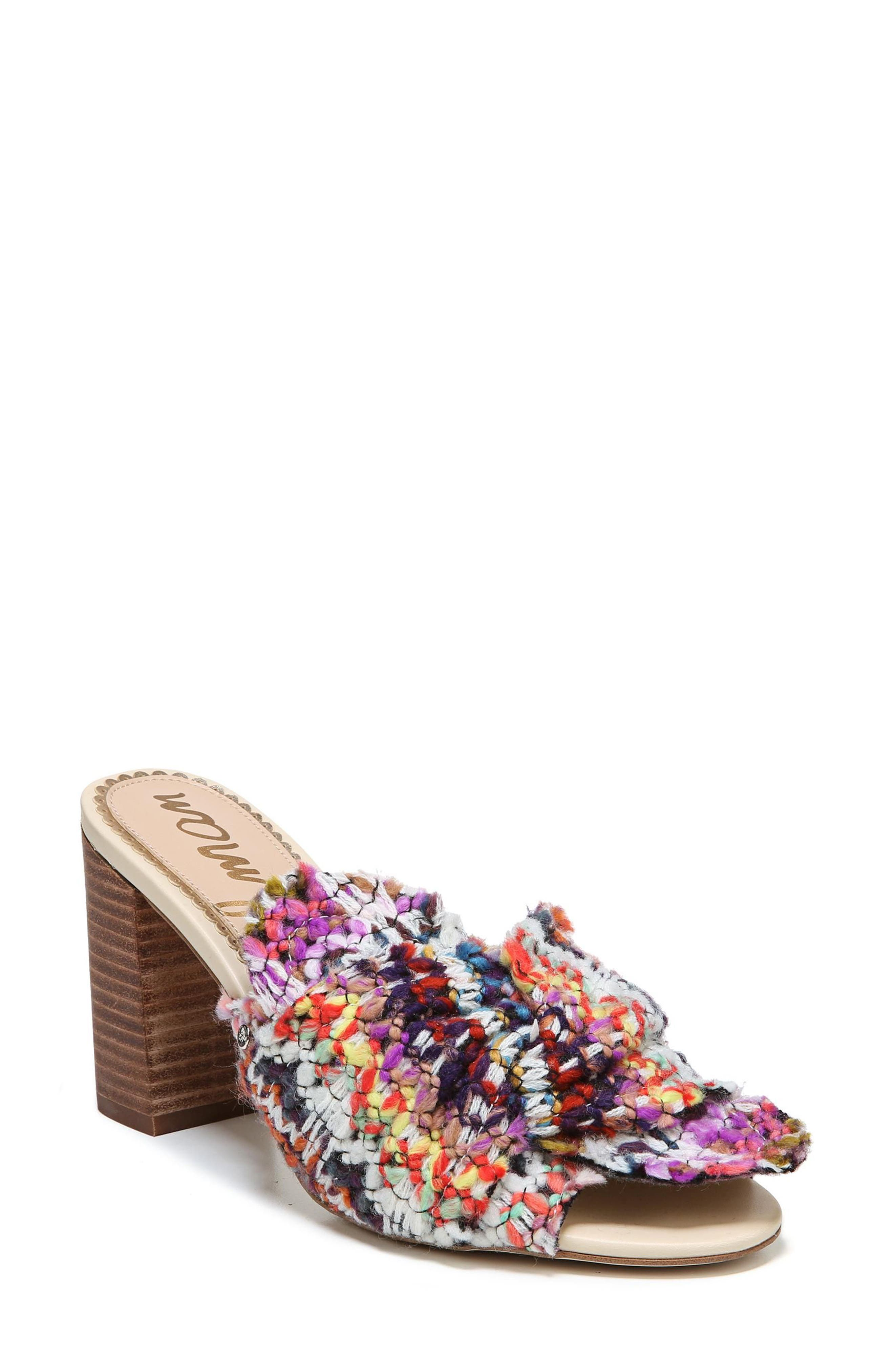 SAM EDELMAN Oda Slide Sandal, Main, color, 100