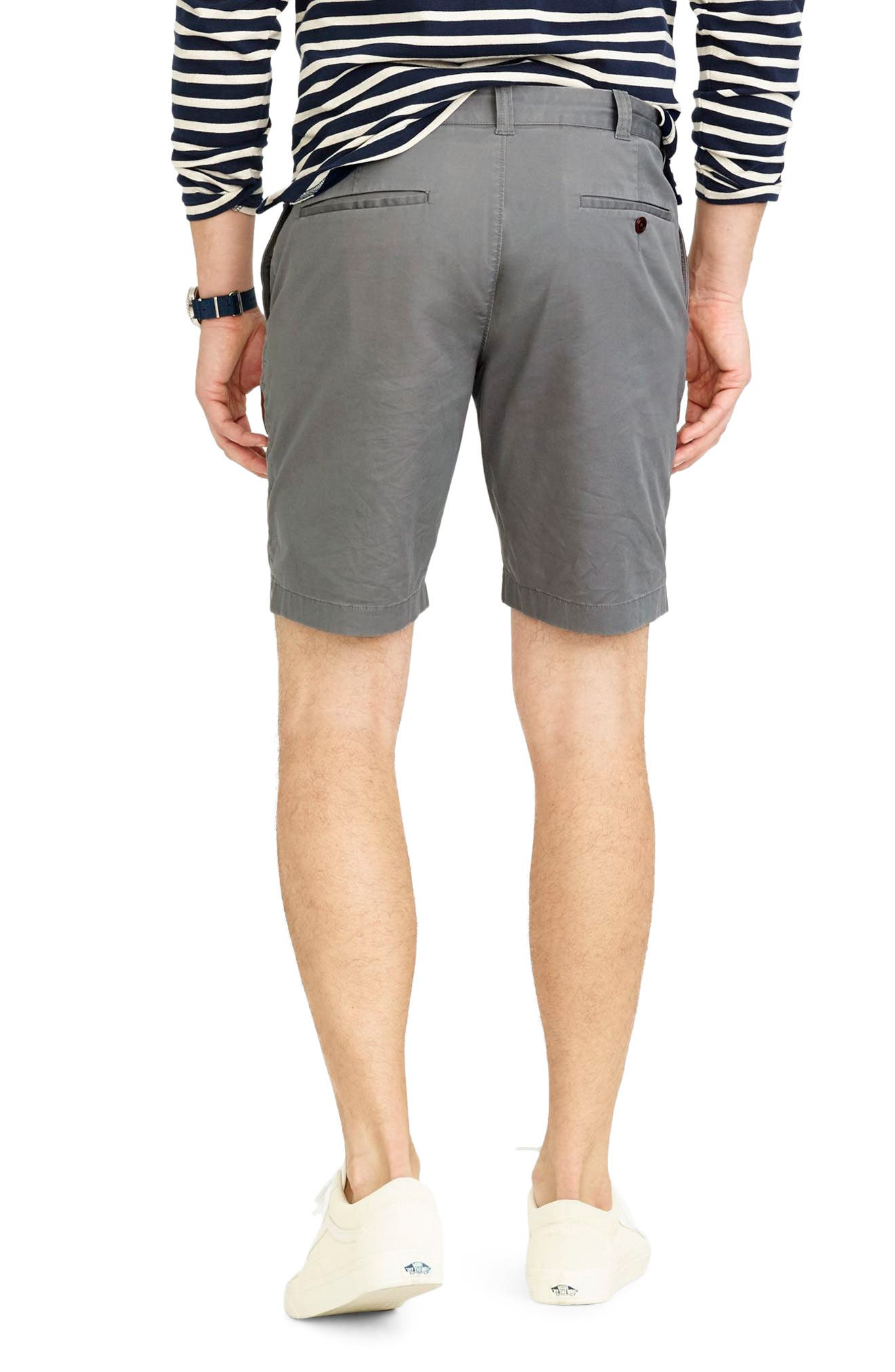 Stretch Chino Shorts,                             Alternate thumbnail 2, color,                             020