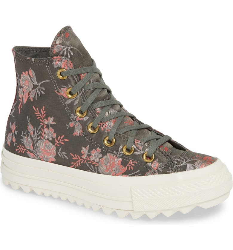 14303007170f Converse Chuck Taylor® All Star® Lift Ripple Parkway Floral High Top ...