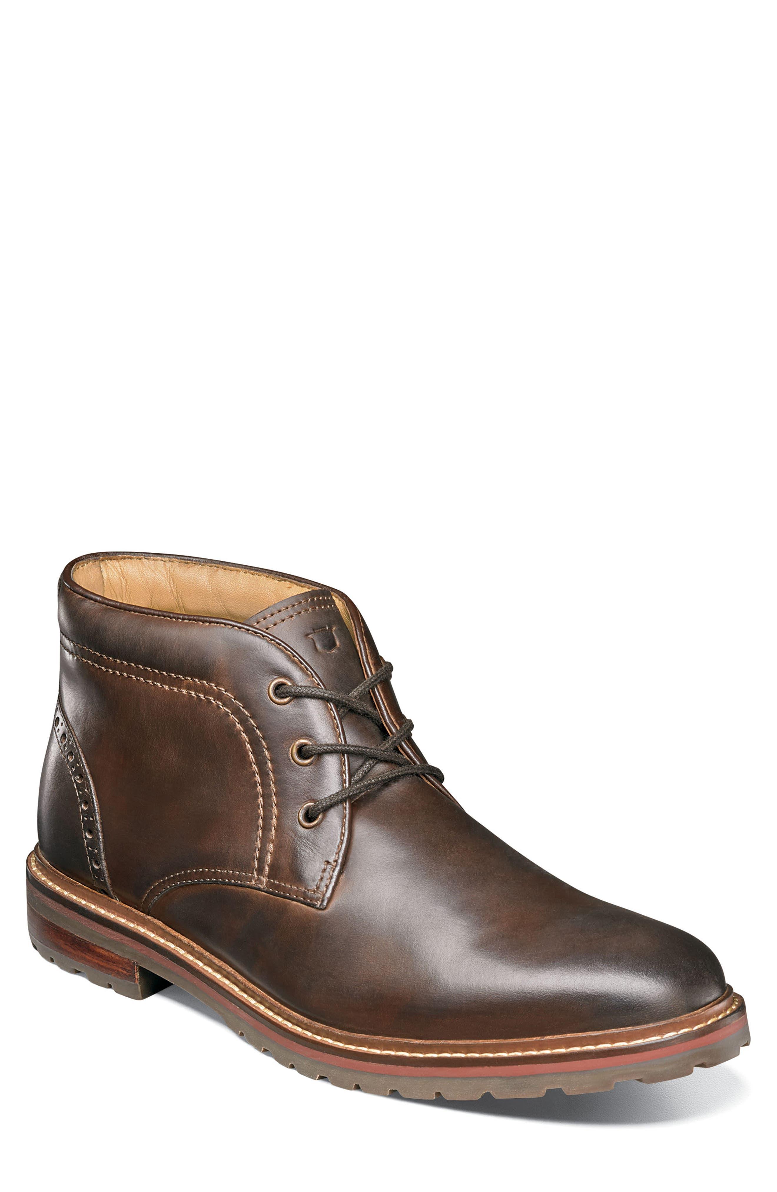 Florsheim Estabrook Lugged Chukka Boot, Brown