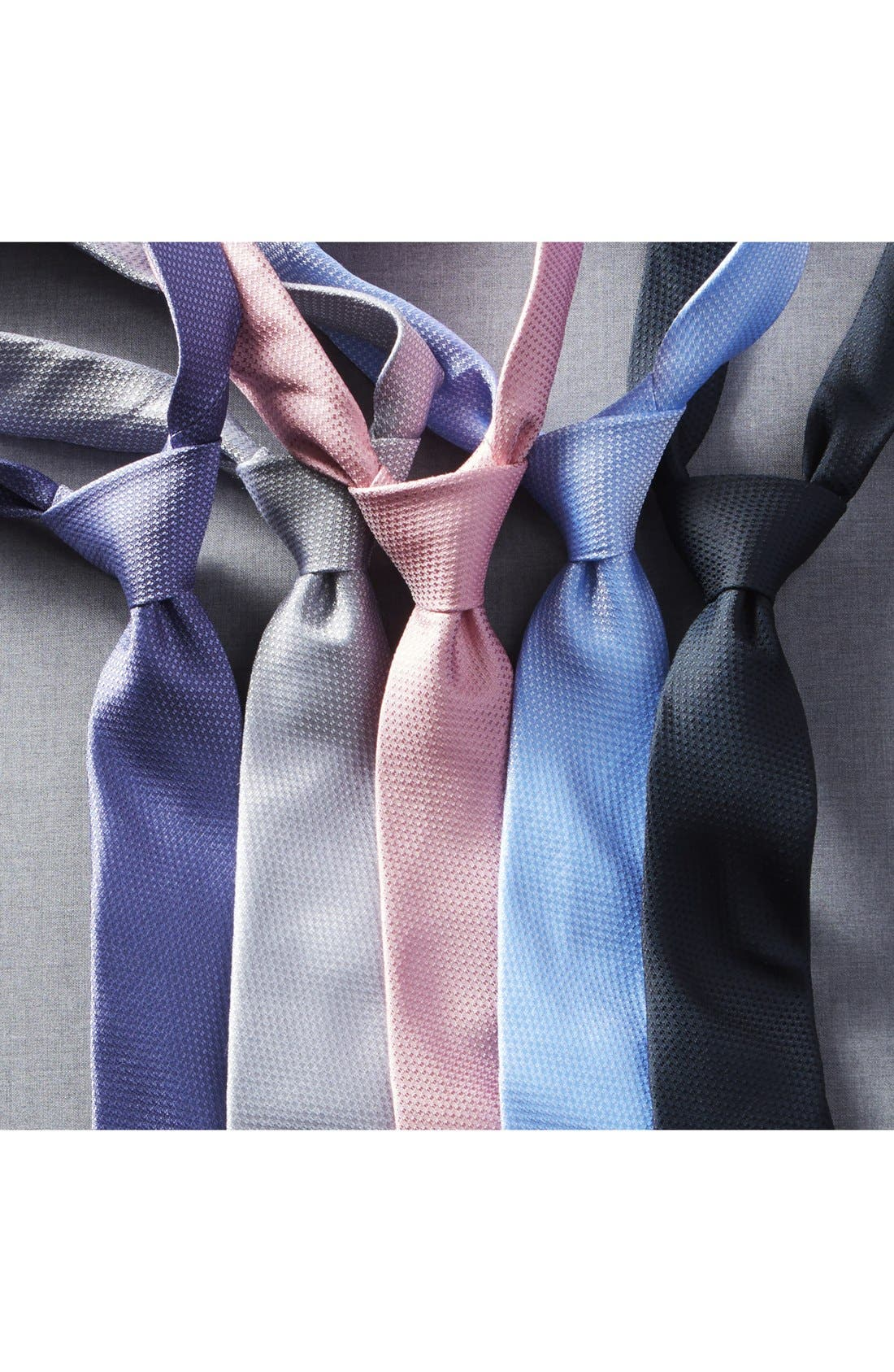 Seattle Textured Silk Tie,                             Alternate thumbnail 2, color,                             015