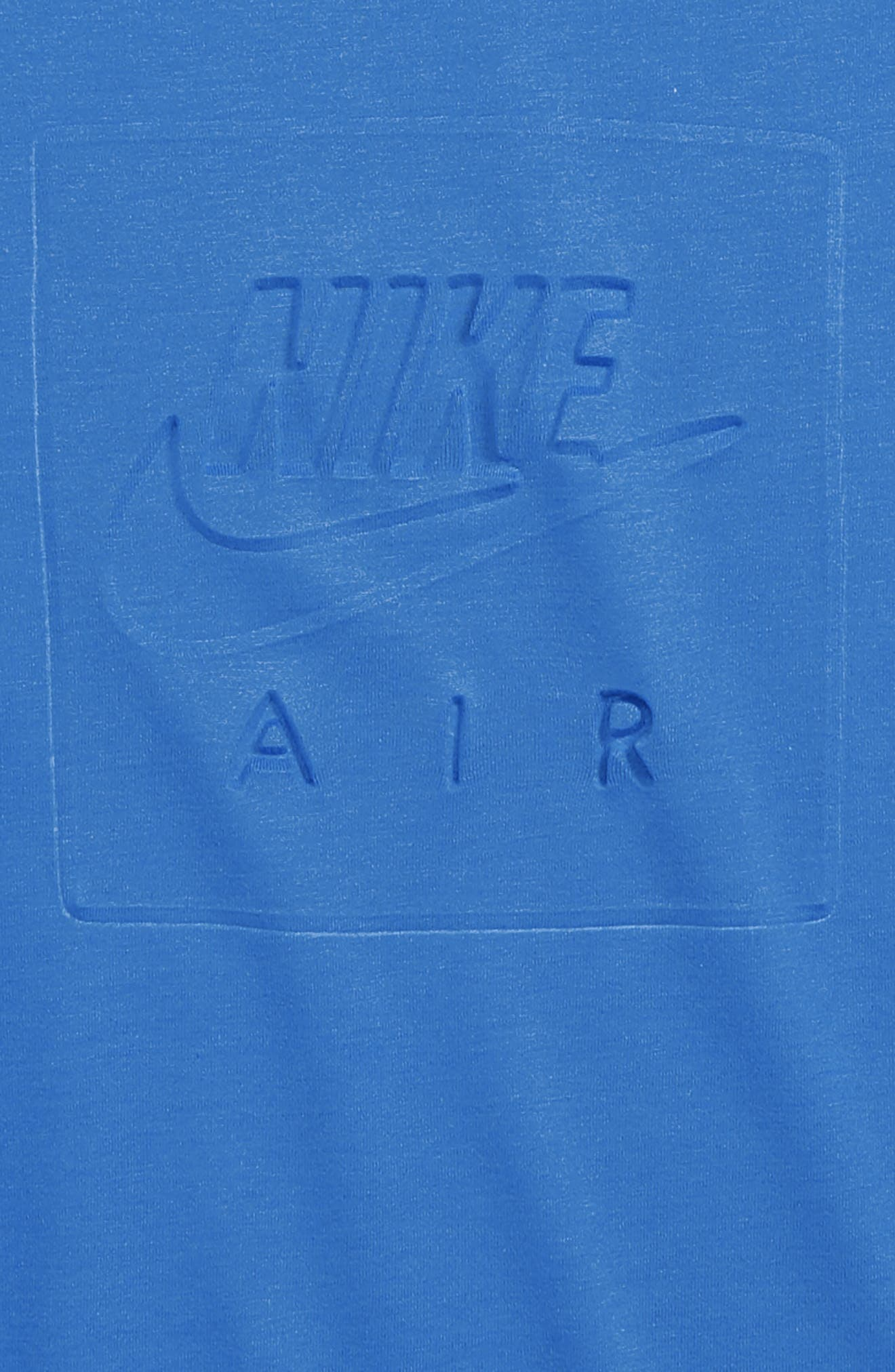 Air Logo T-Shirt,                             Alternate thumbnail 2, color,                             SIGNAL BLUE