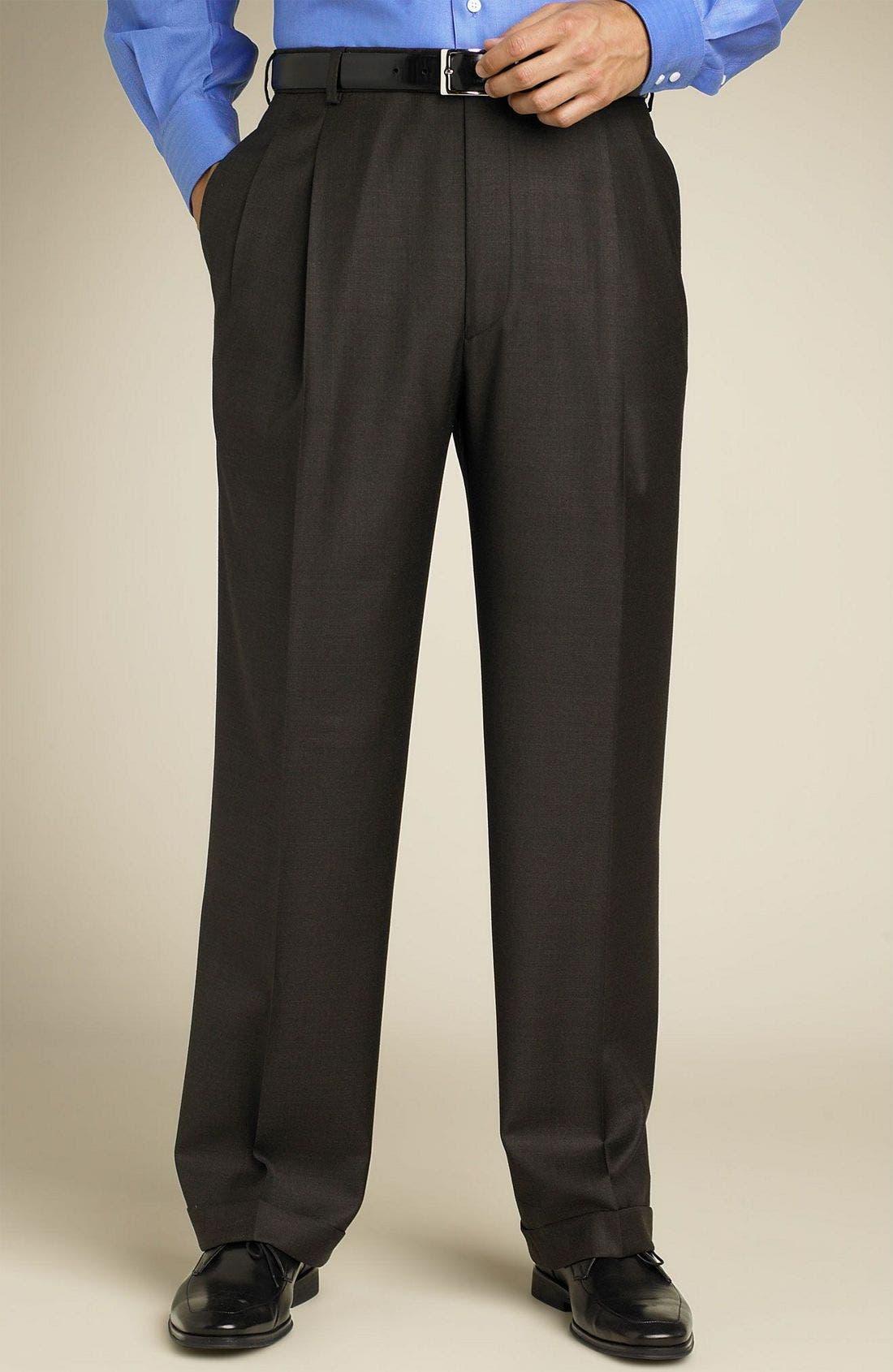Loro Piana Suit,                             Alternate thumbnail 2, color,                             BRO