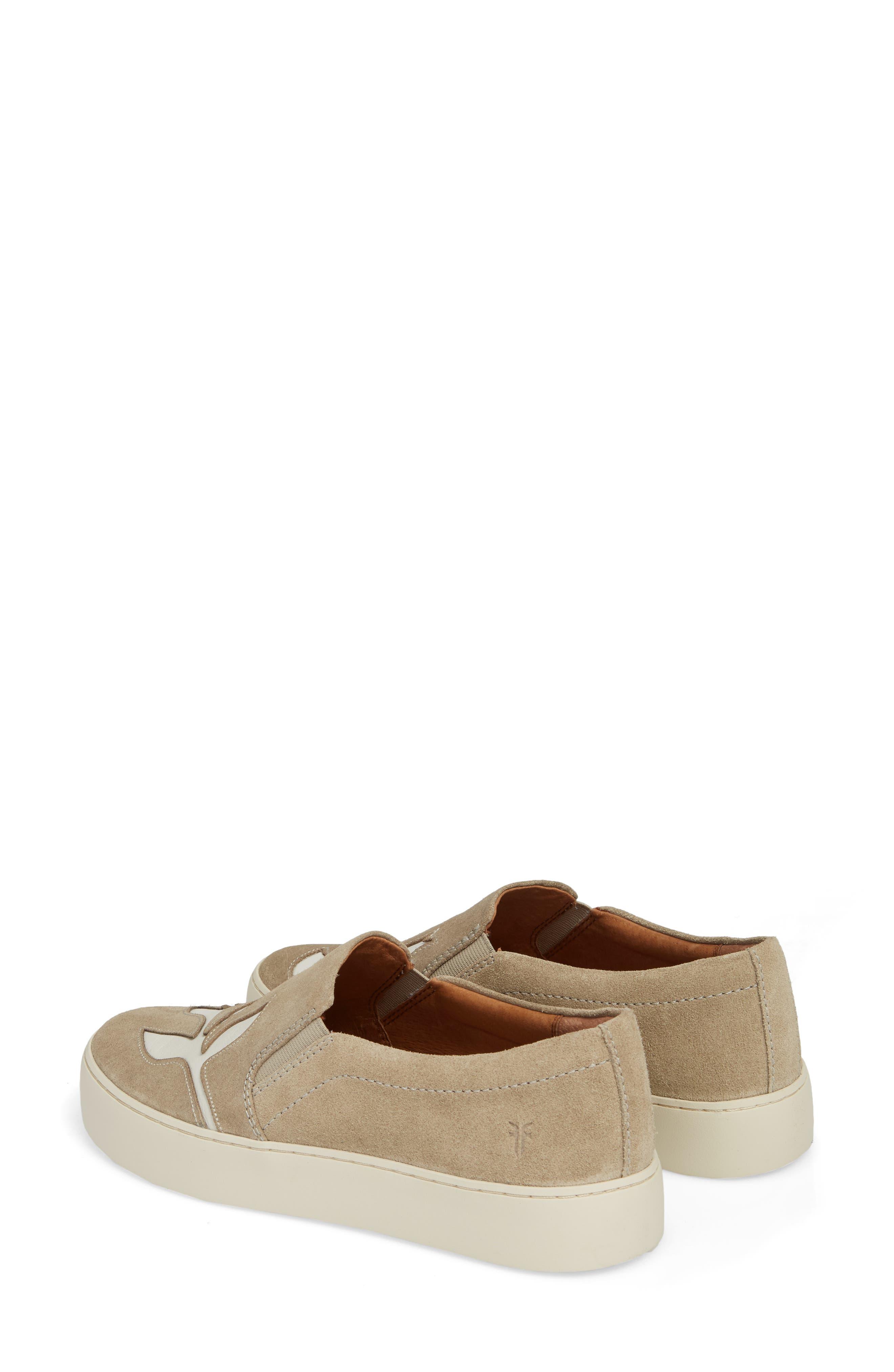 Lena Floral Slip-On Sneaker,                             Alternate thumbnail 6, color,