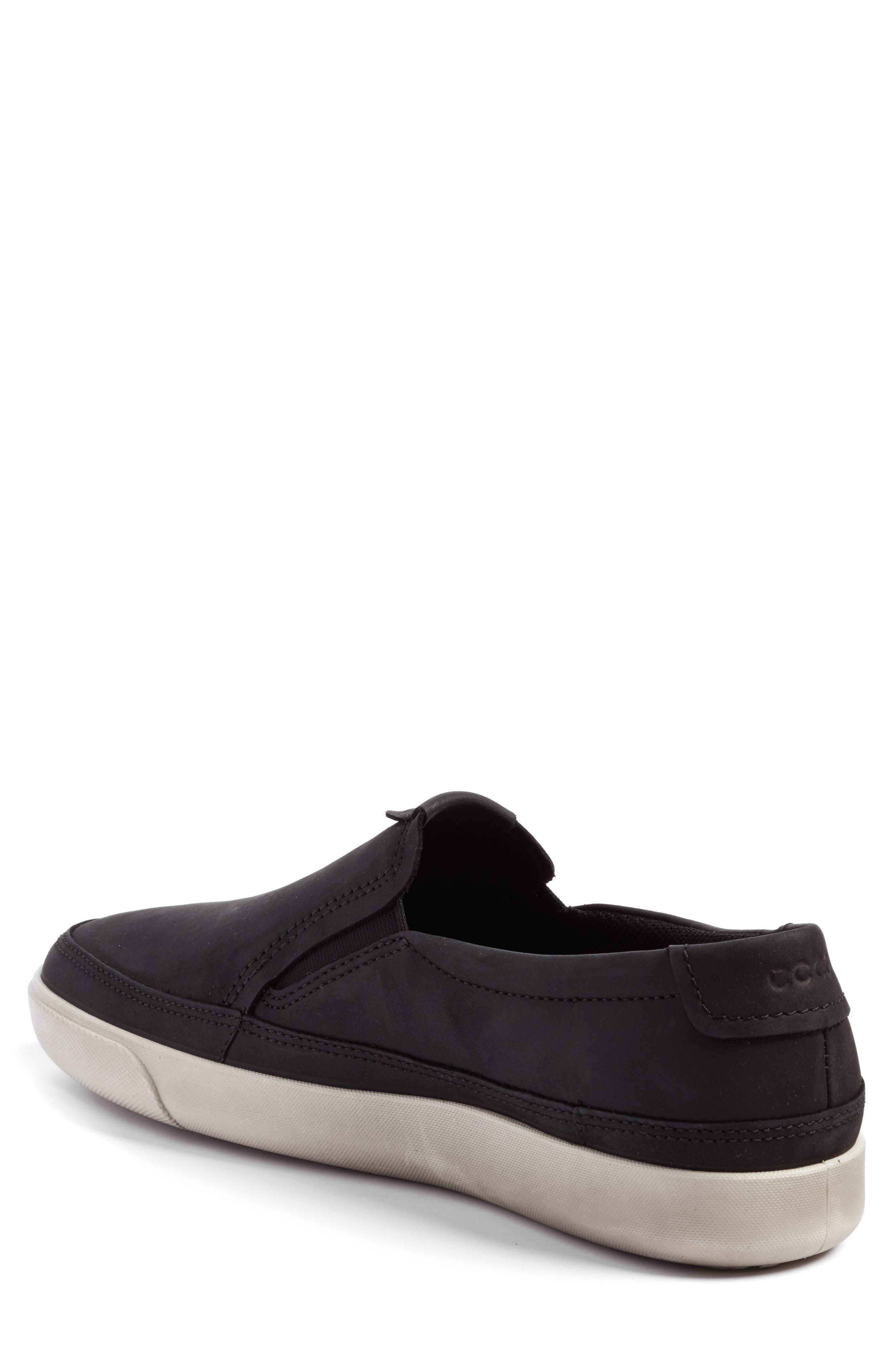 ECCO,                             'Gary' Slip-On,                             Alternate thumbnail 2, color,                             001