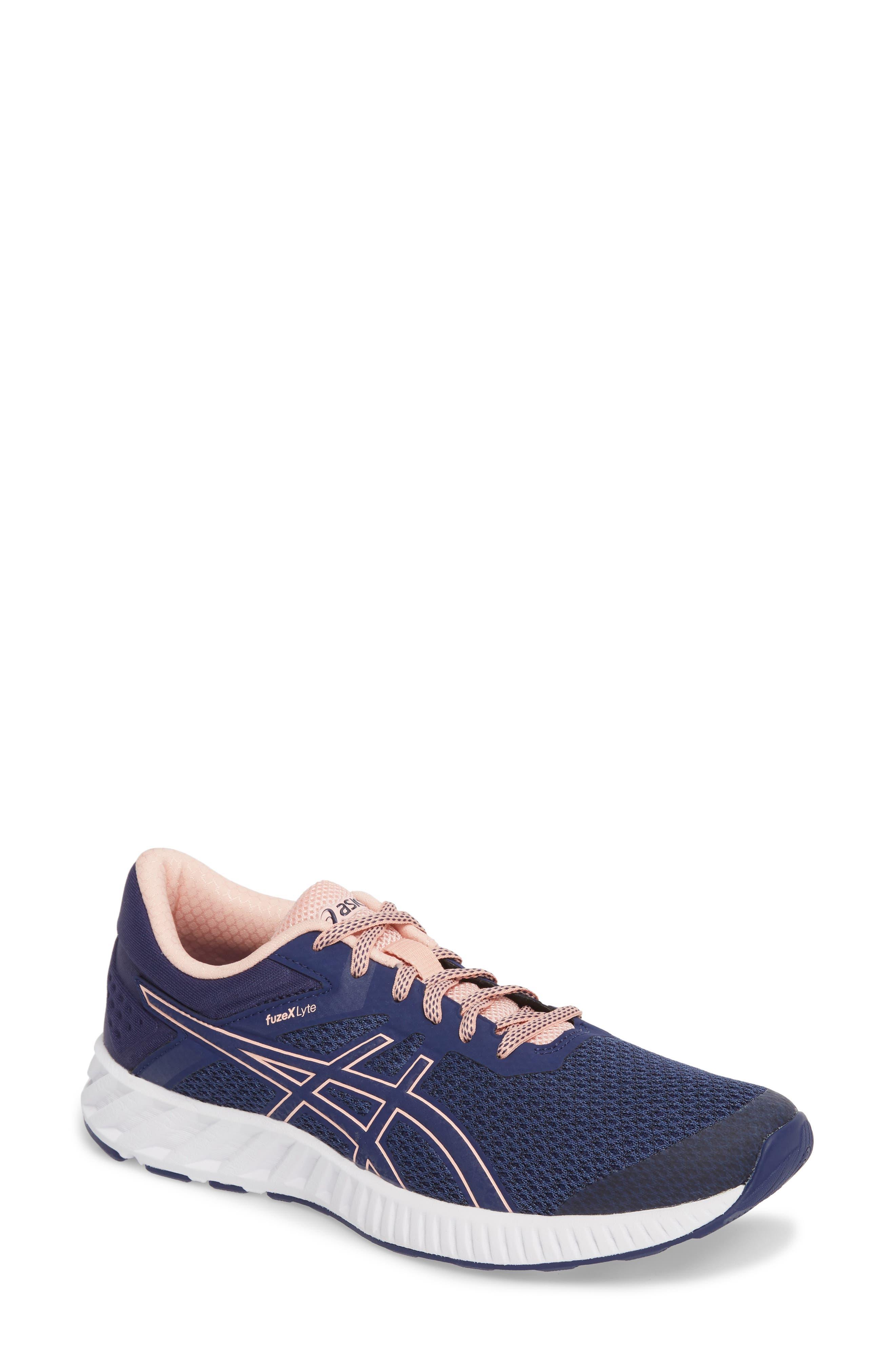 FuzeX Lyte 2 Running Shoe,                             Main thumbnail 1, color,                             INDIGO BLUE/ FROSTED ROSE