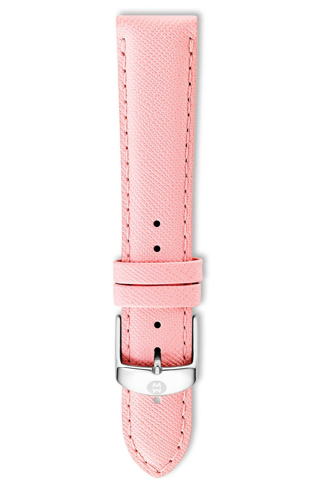 16mm Leather Watch Strap,                             Main thumbnail 16, color,