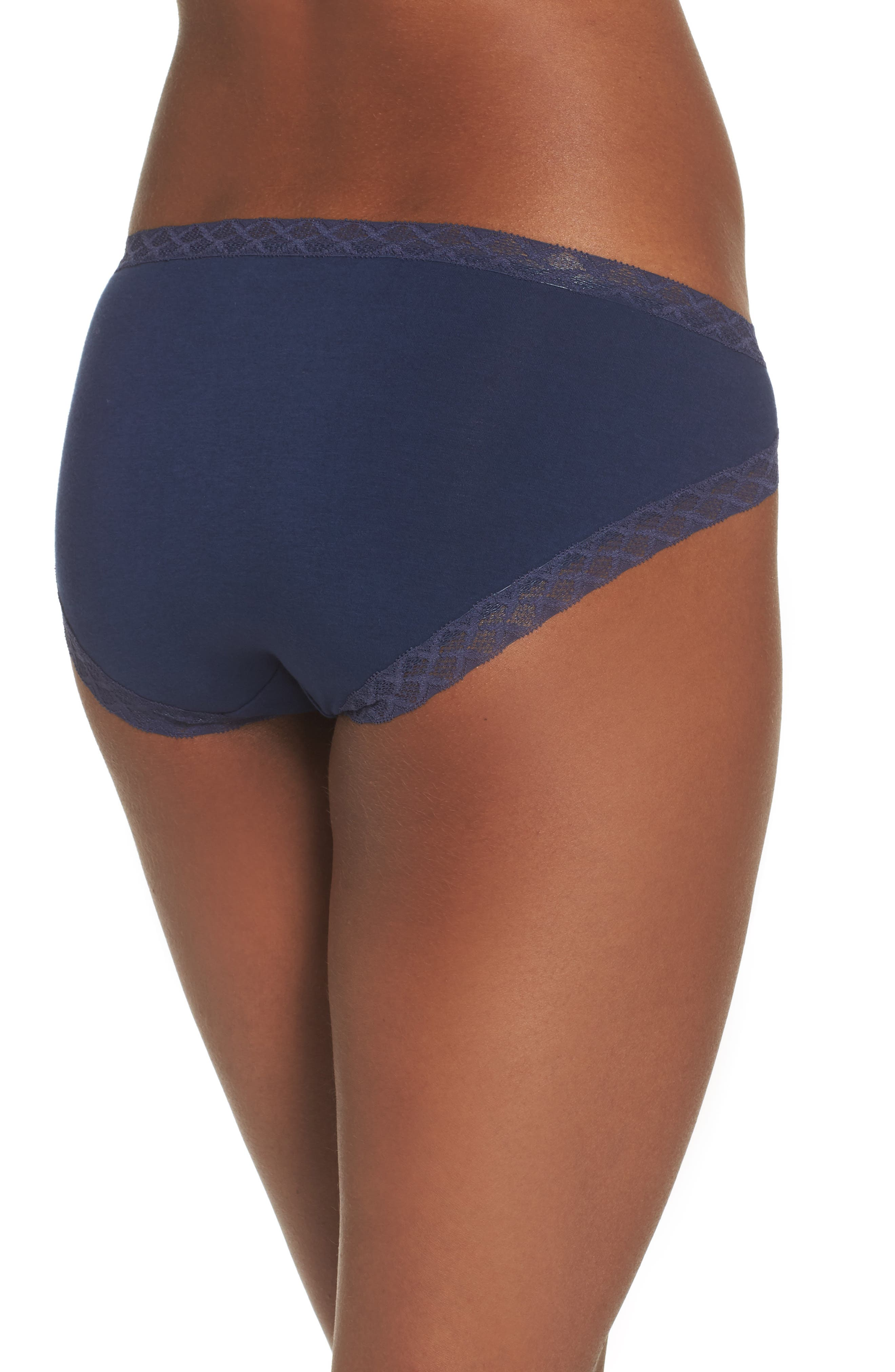 Bliss French Cut Briefs,                             Alternate thumbnail 2, color,                             NIGHT
