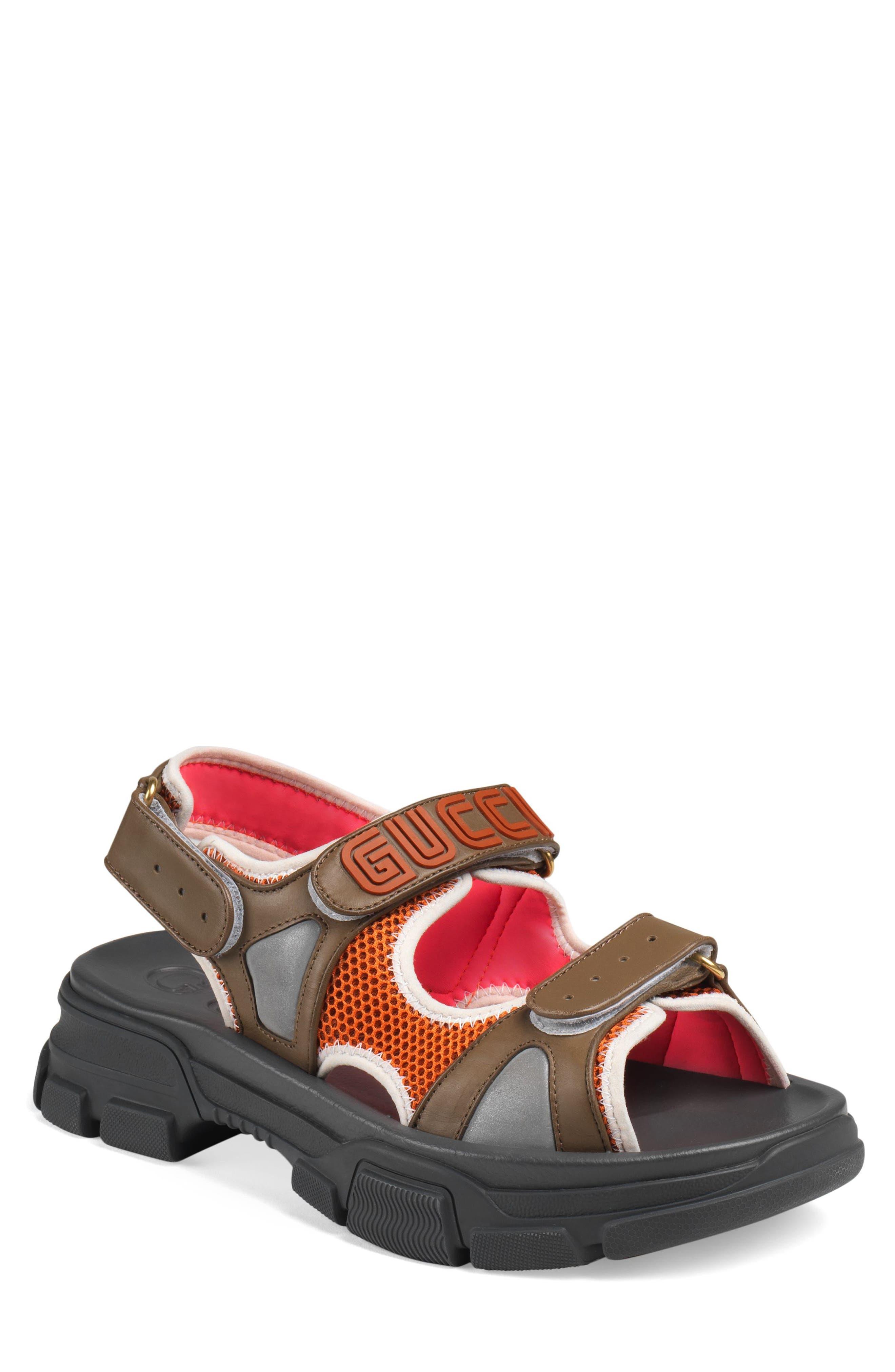 Agru Sport Sandal,                             Main thumbnail 1, color,                             BROWN
