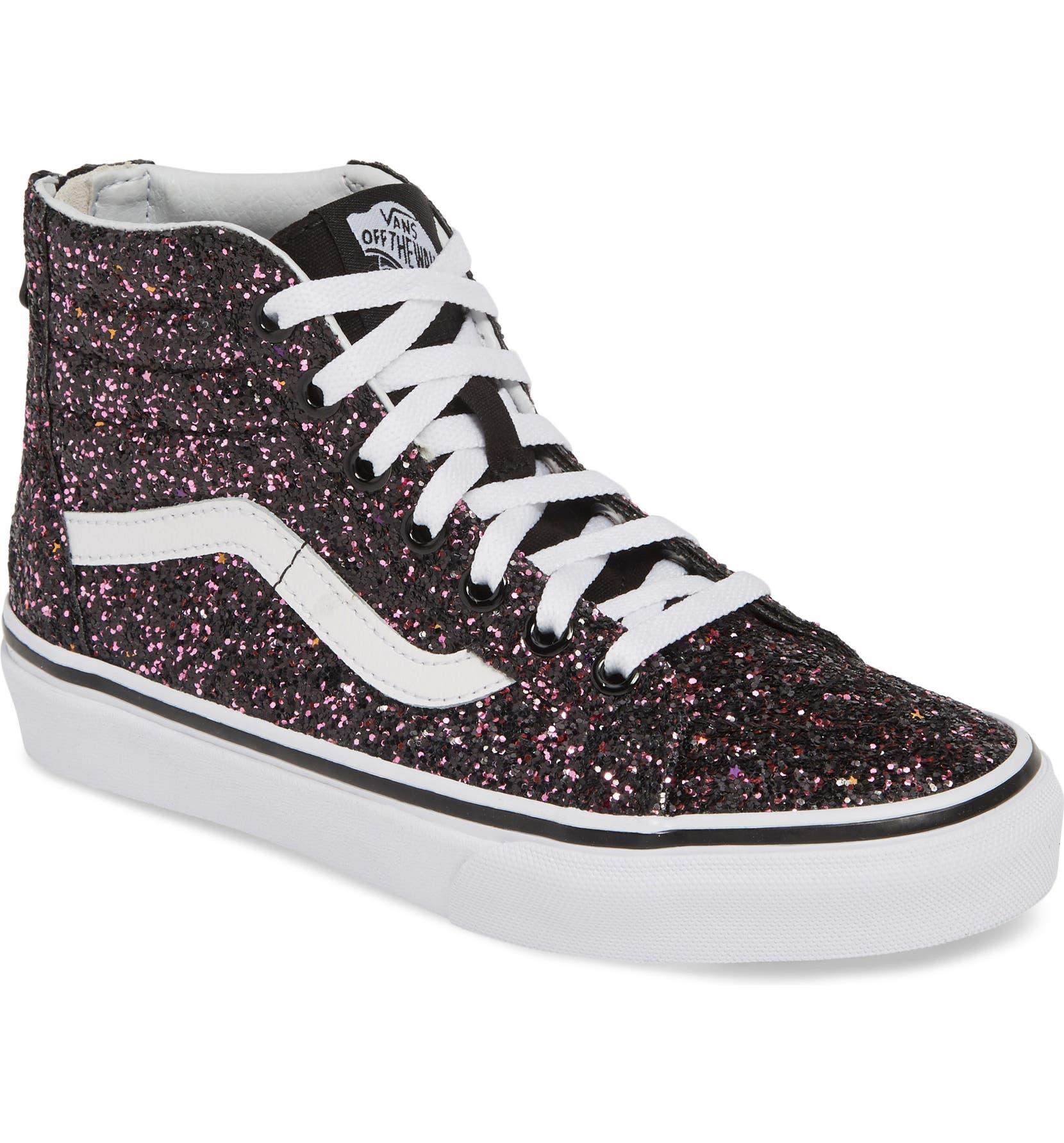 69e1860e090 Vans Sk8-Hi Zip Sneaker (Baby